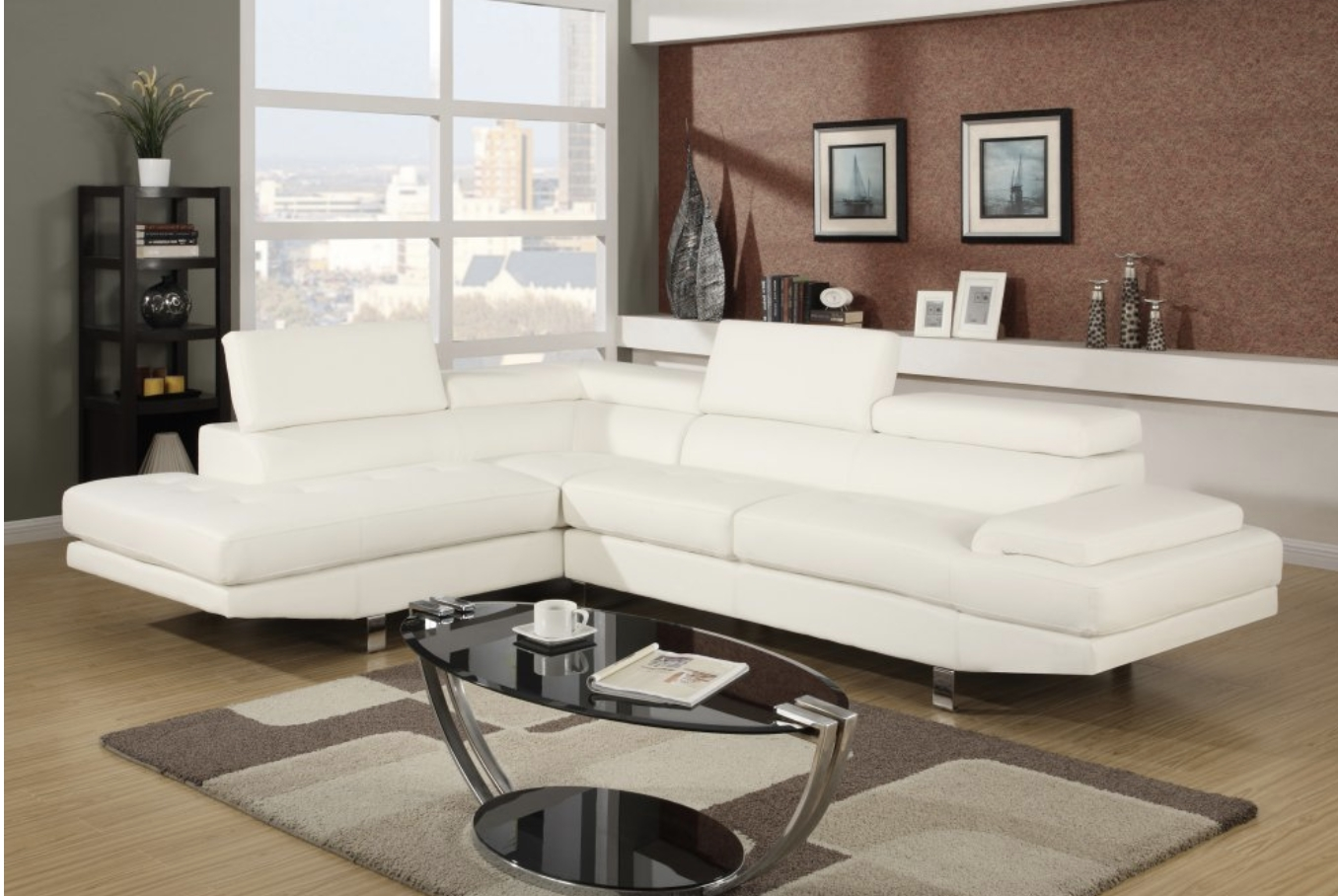 100x80 Sectional Sofas For Most Recent 75 Modern Sectional Sofas For Small Spaces (2018) (View 10 of 20)