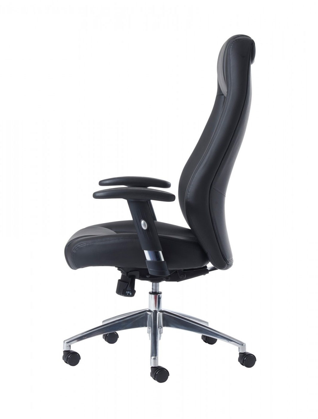 121 Office Pertaining To Black Leather Faced Executive Office Chairs (View 5 of 20)