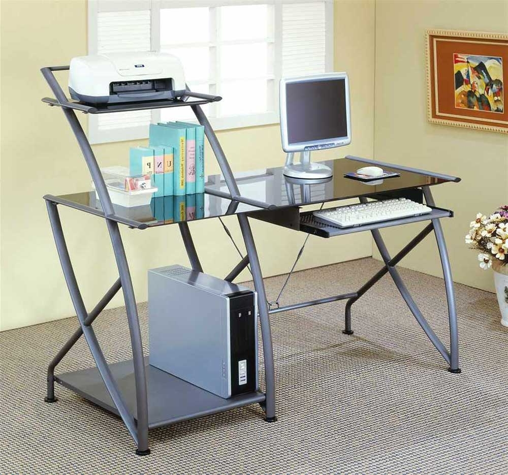 15+ Different Types Of Desks In Today's Market (Greatest Buying Intended For Trendy Glass And Metal Computer Desks (Gallery 1 of 20)