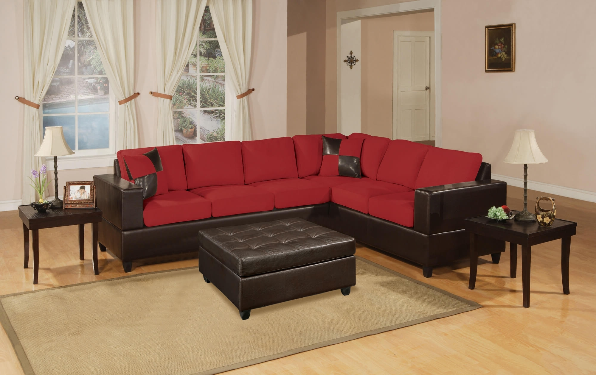 18 Stylish Modern Red Sectional Sofas For Most Recent Red Sectional Sofas (View 2 of 20)