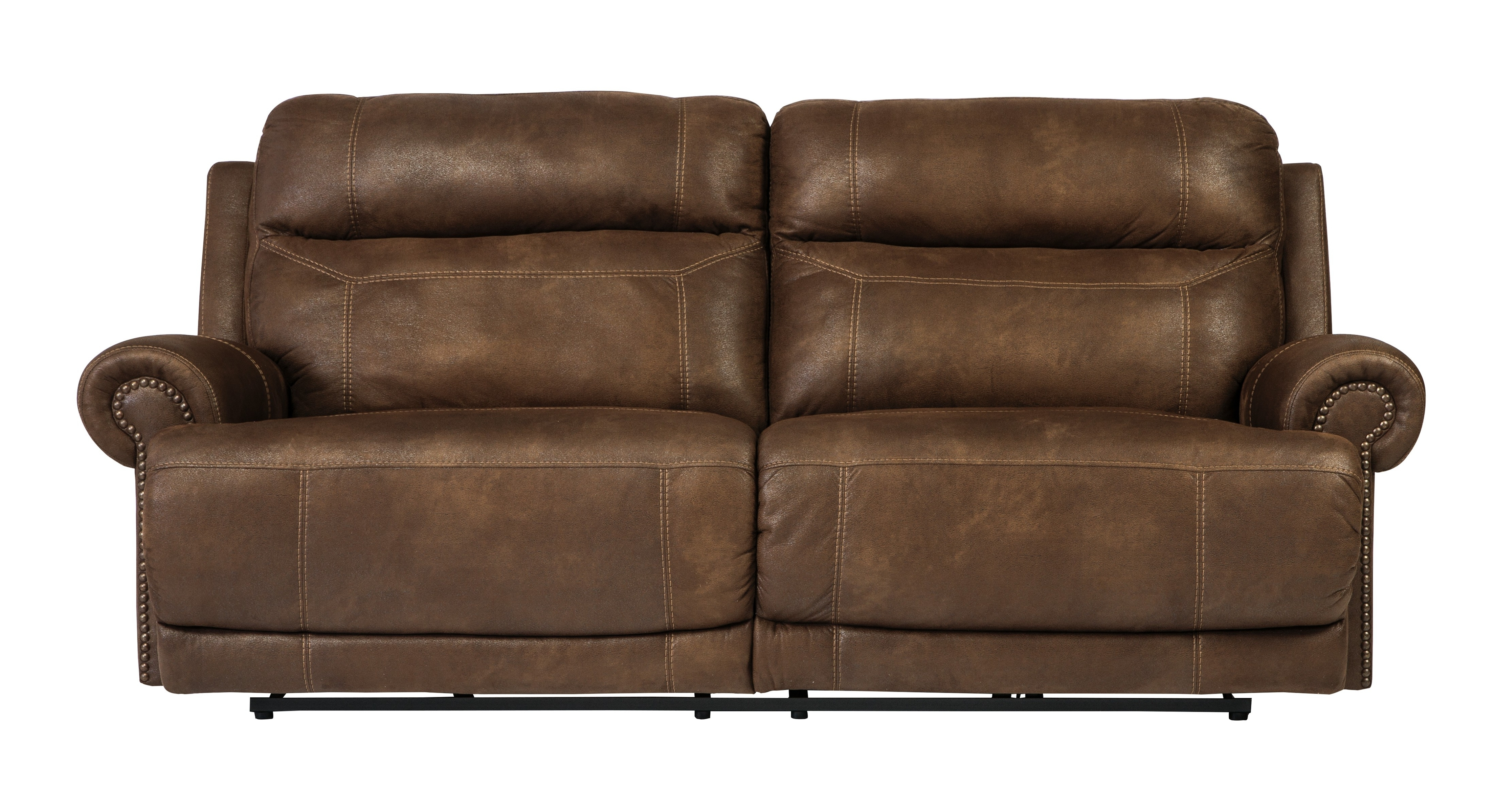 2 Seat Recliner Sofas Inside Widely Used Buy Austere – Brown 2 Seat Reclining Sofasignature Design From (View 5 of 20)