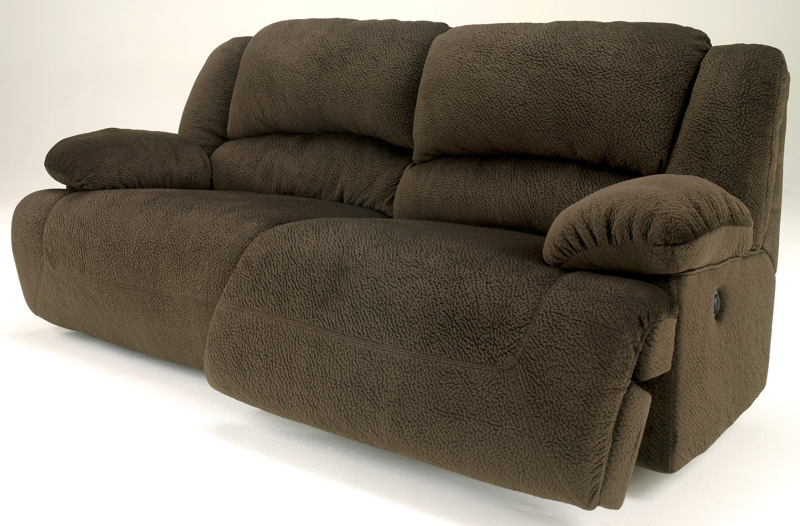 2 Seat Recliner Sofas Within Widely Used Signature Designashley Toletta Chocolate 2 Seat Reclining Sofa (View 4 of 20)