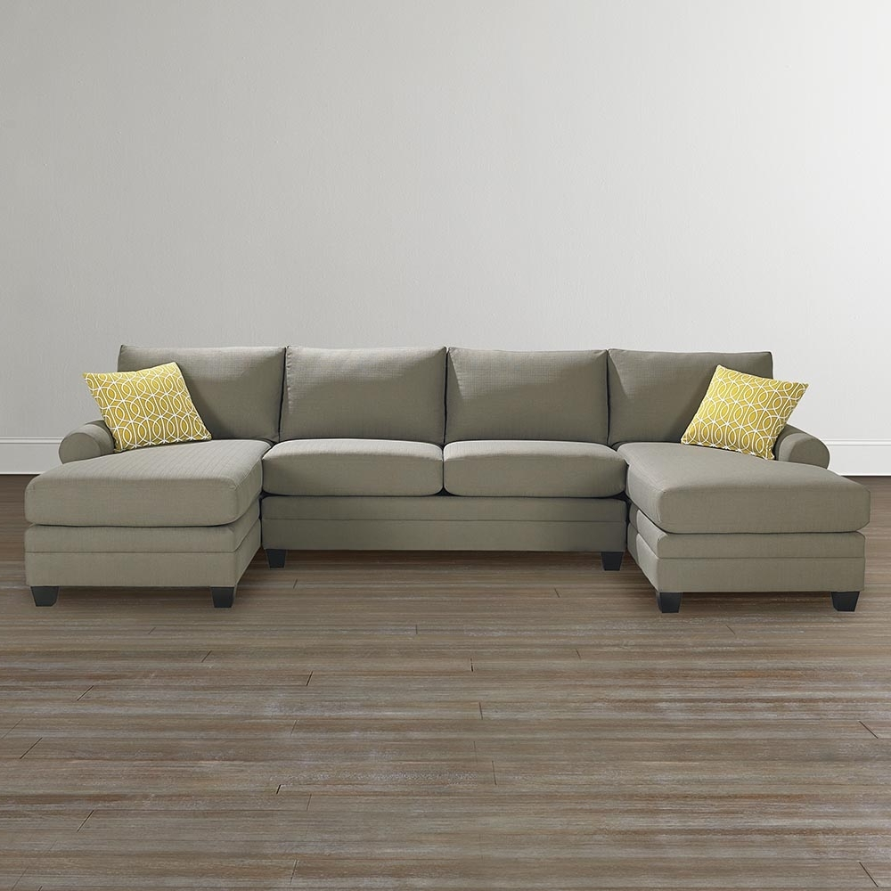 2 Seat Sectional Sofas Inside Trendy Cool Microfiber Sectional Sofa — Dans Design Magz : Microfiber (View 3 of 20)