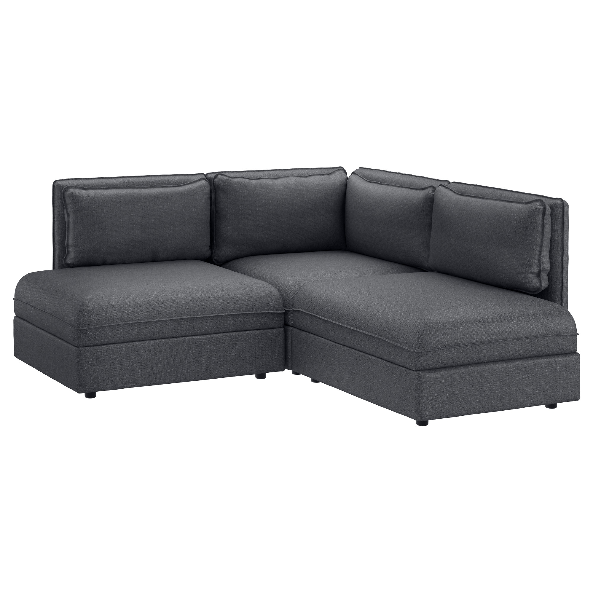 2 Seat Sectional Sofas Regarding Most Current Vallentuna Sectional, 2 Seat – Murum Beige – Ikea (View 4 of 20)
