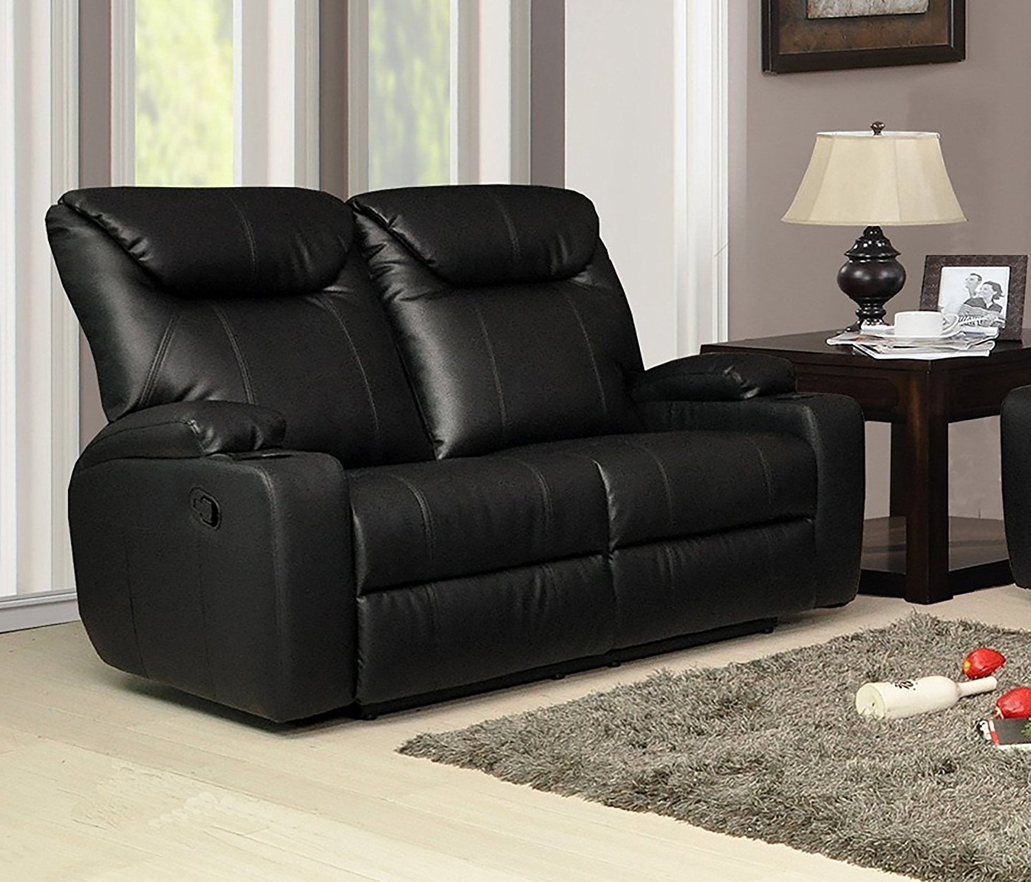 2 Seater Leather Recliner Sofa Cheap Reclining Loveseat With Throughout Famous 2 Seater Recliner Leather Sofas (View 1 of 20)