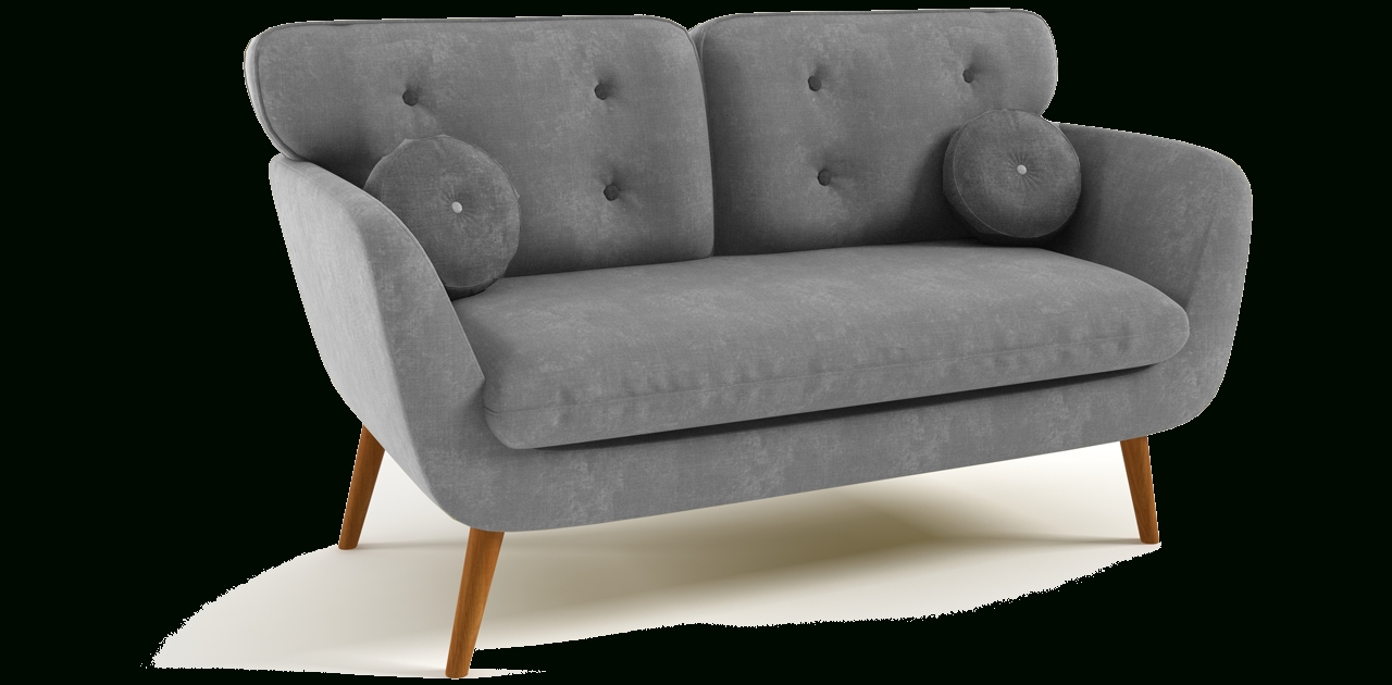2 Seater Retro Sofa Within Fashionable Retro Sofas (View 3 of 20)