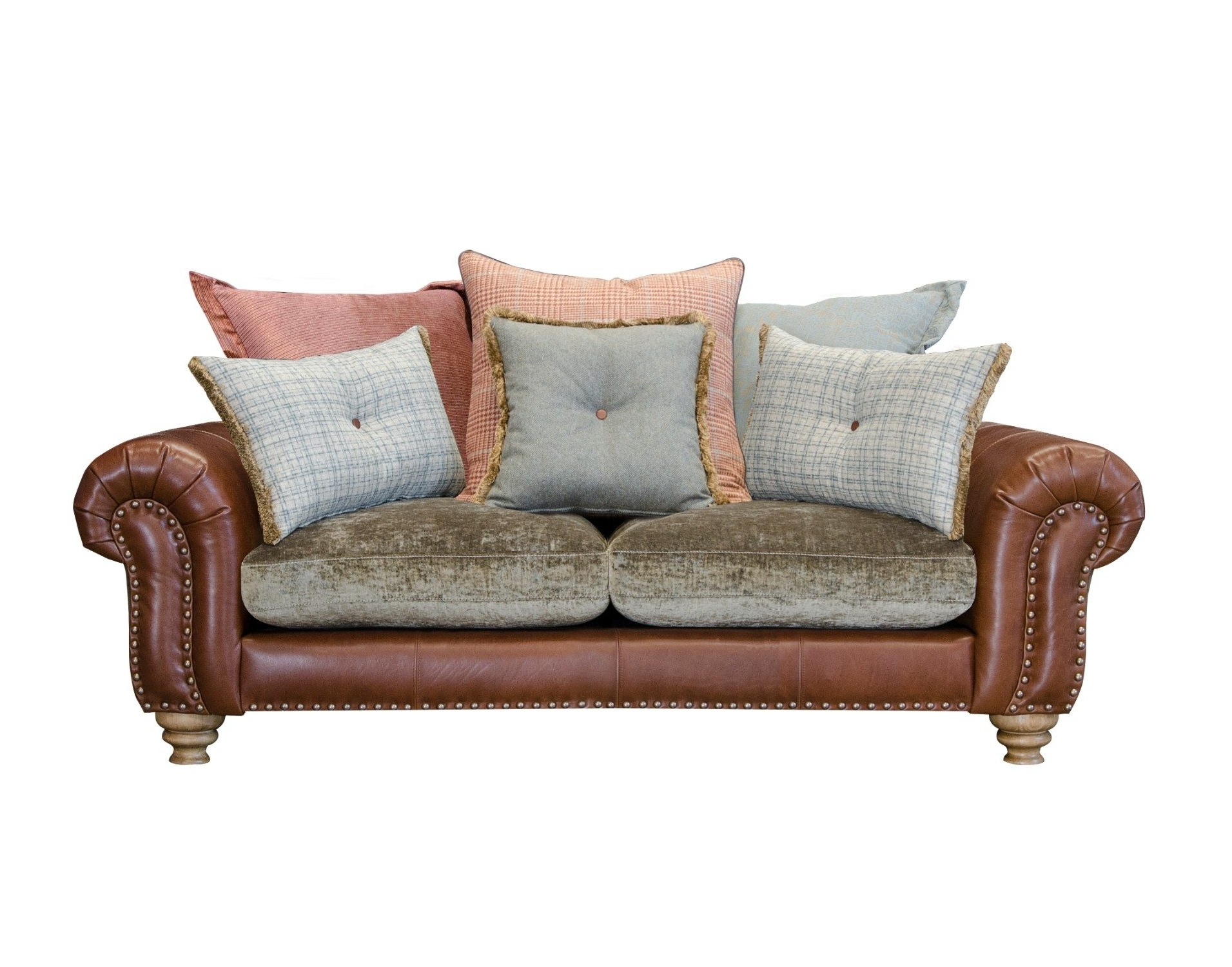 2 Seater Sofas In Cornwall & Devon At Furniture World – Furniture Within Most Popular Single Seat Sofa Chairs (View 17 of 20)