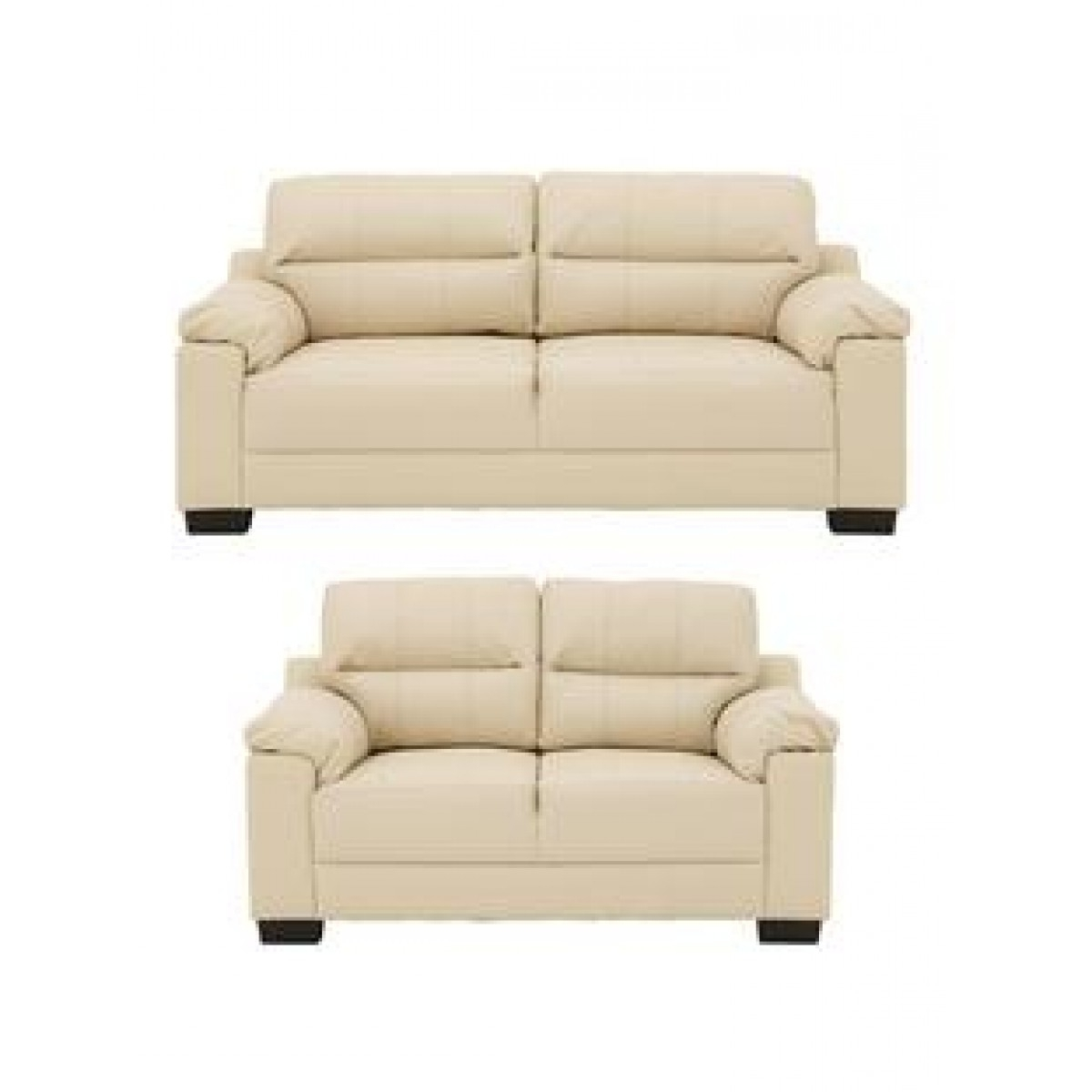 2 Seater Sofas With Regard To Well Known Saskia 3 Seater Plus 2 Seater Sofa Set – Furnico Village (View 17 of 20)