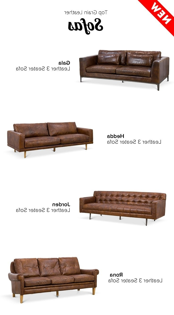 20 Best Vintage Leather Images On Pinterest Throughout Current Mid Range Sofas (View 15 of 20)