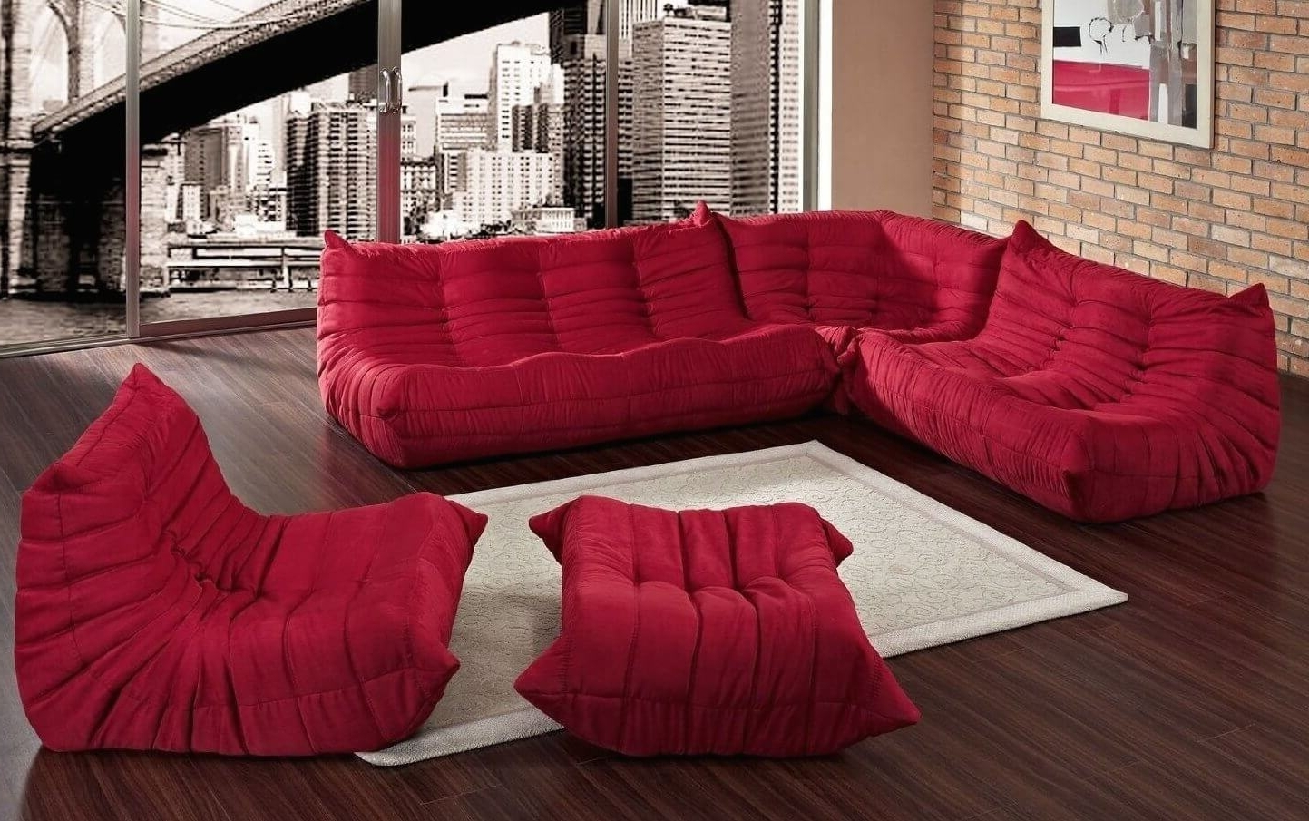 20 Types Of Modular Sectional Sofas Inside Well Liked Sectional Sofas That Can Be Rearranged (View 10 of 20)