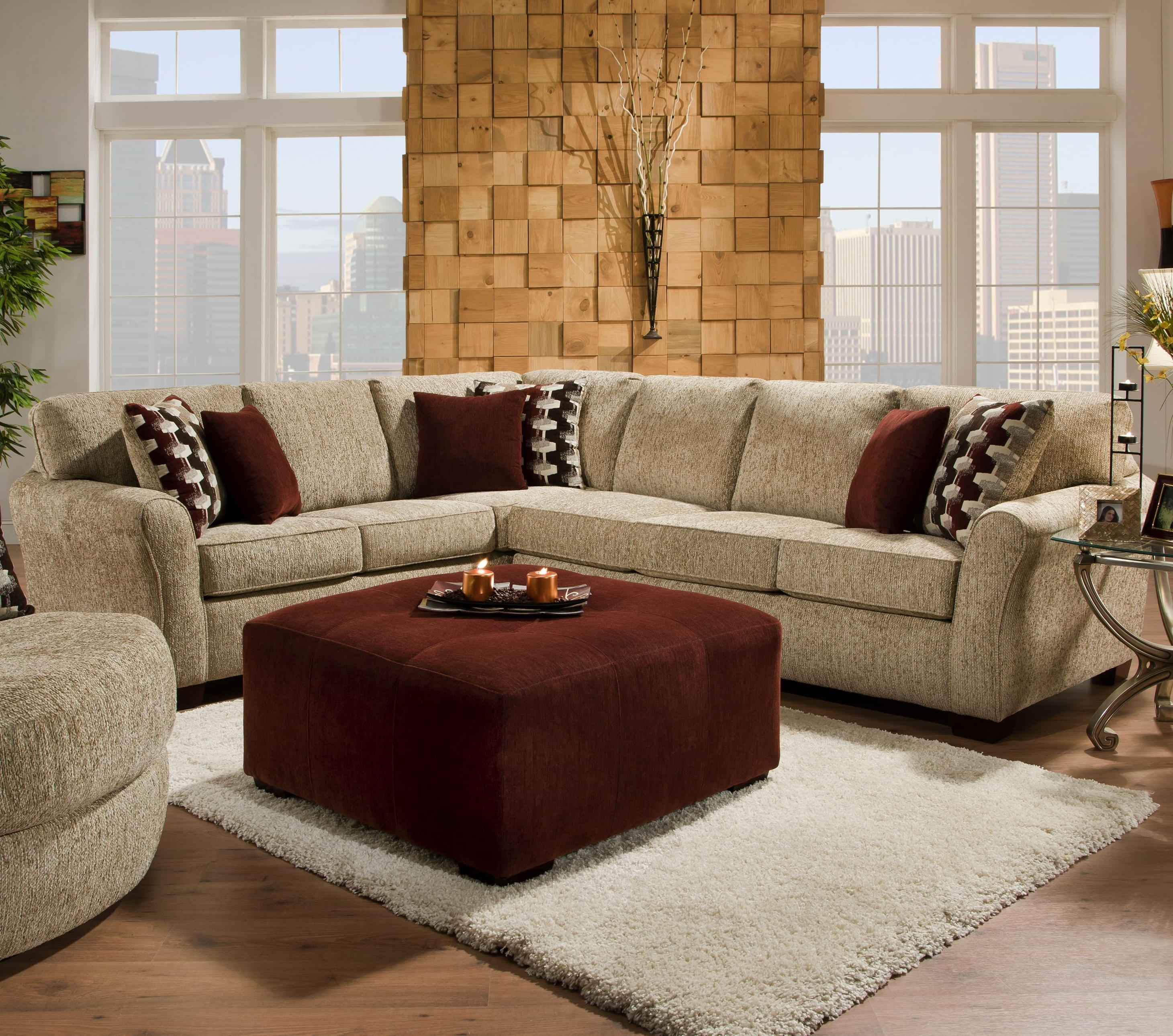 2018 2500 Contemporary Styled Sectional Sofa With Sleepercorinthian Within Johnny Janosik Sectional Sofas (View 1 of 20)
