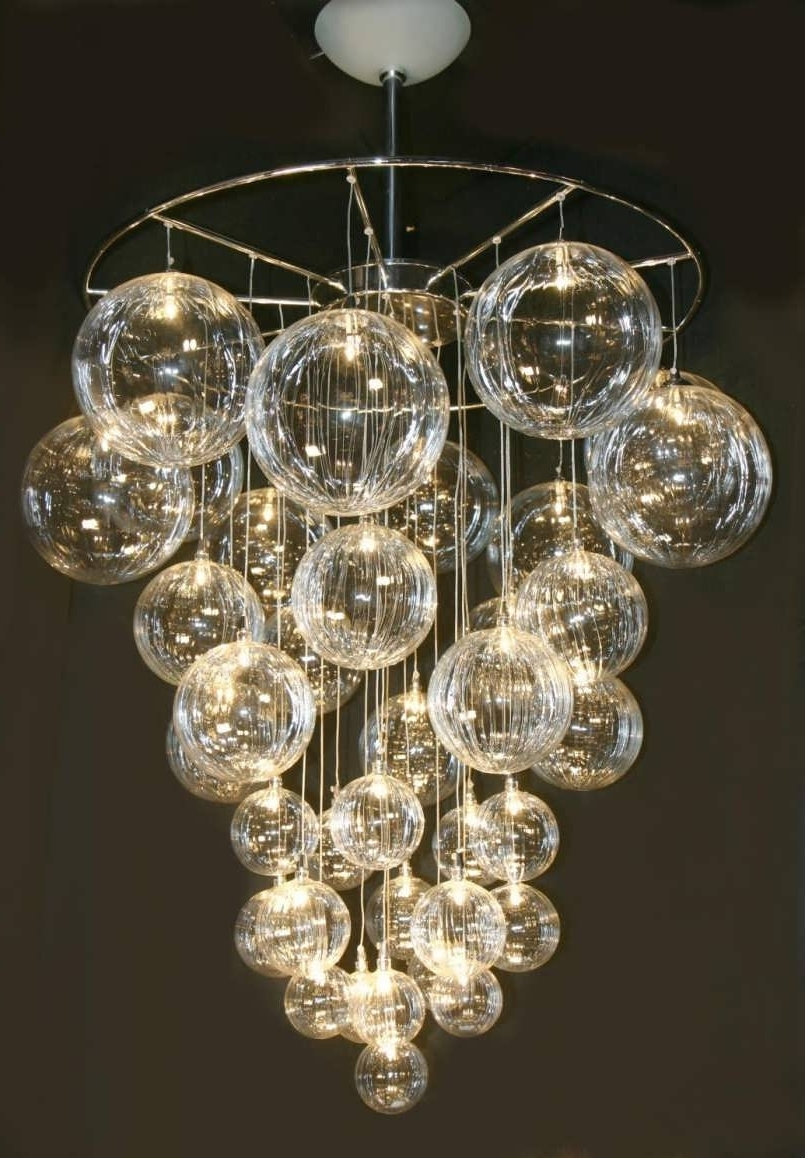 2018 Chandelier : Crystal Chandelier Globe Chandelier Copper Chandelier With Regard To Unusual Chandeliers (View 13 of 20)