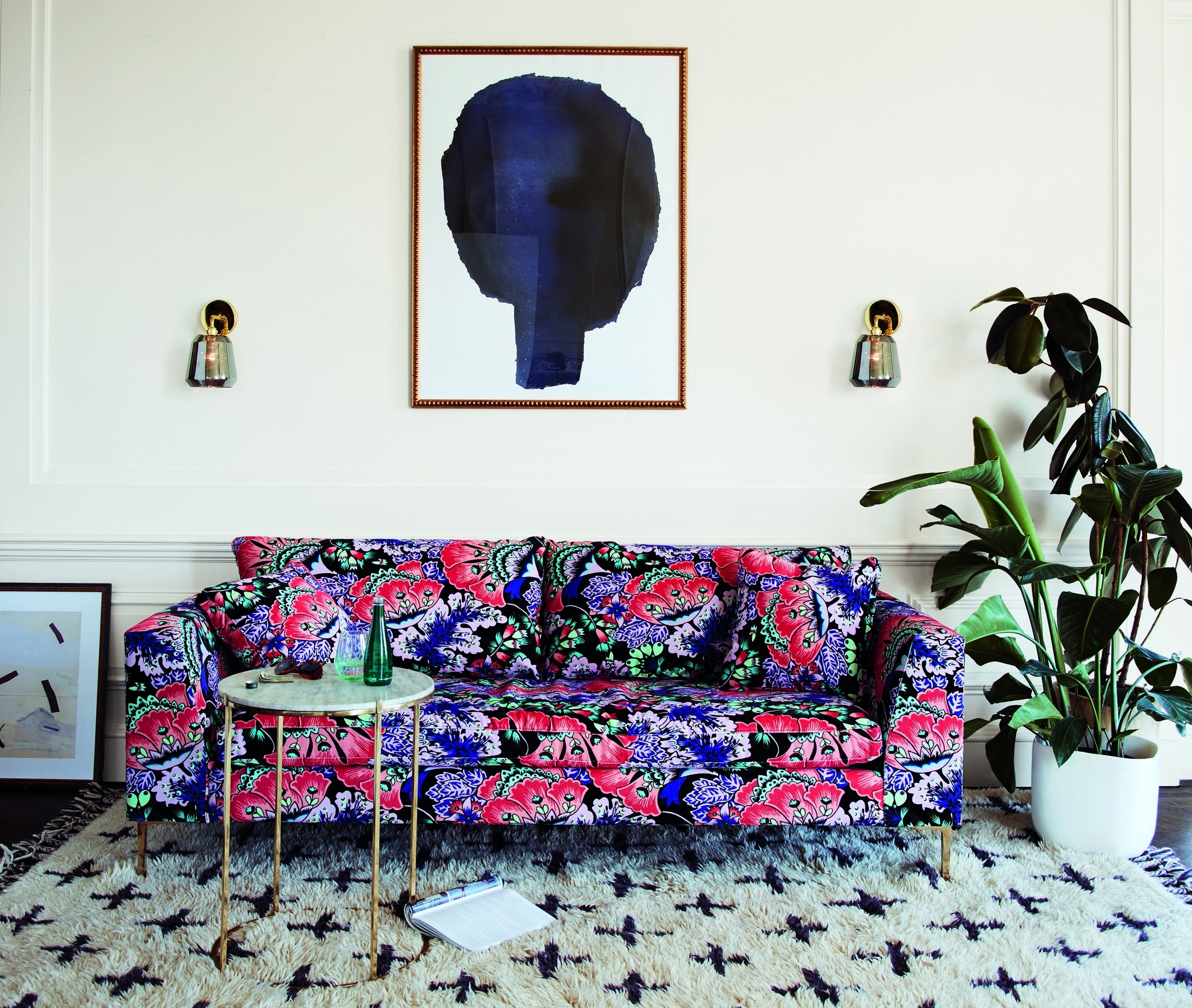 2018 Chintz Floral Sofas Intended For First Look: Liberty's Home Collection For Anthropologie (View 16 of 20)