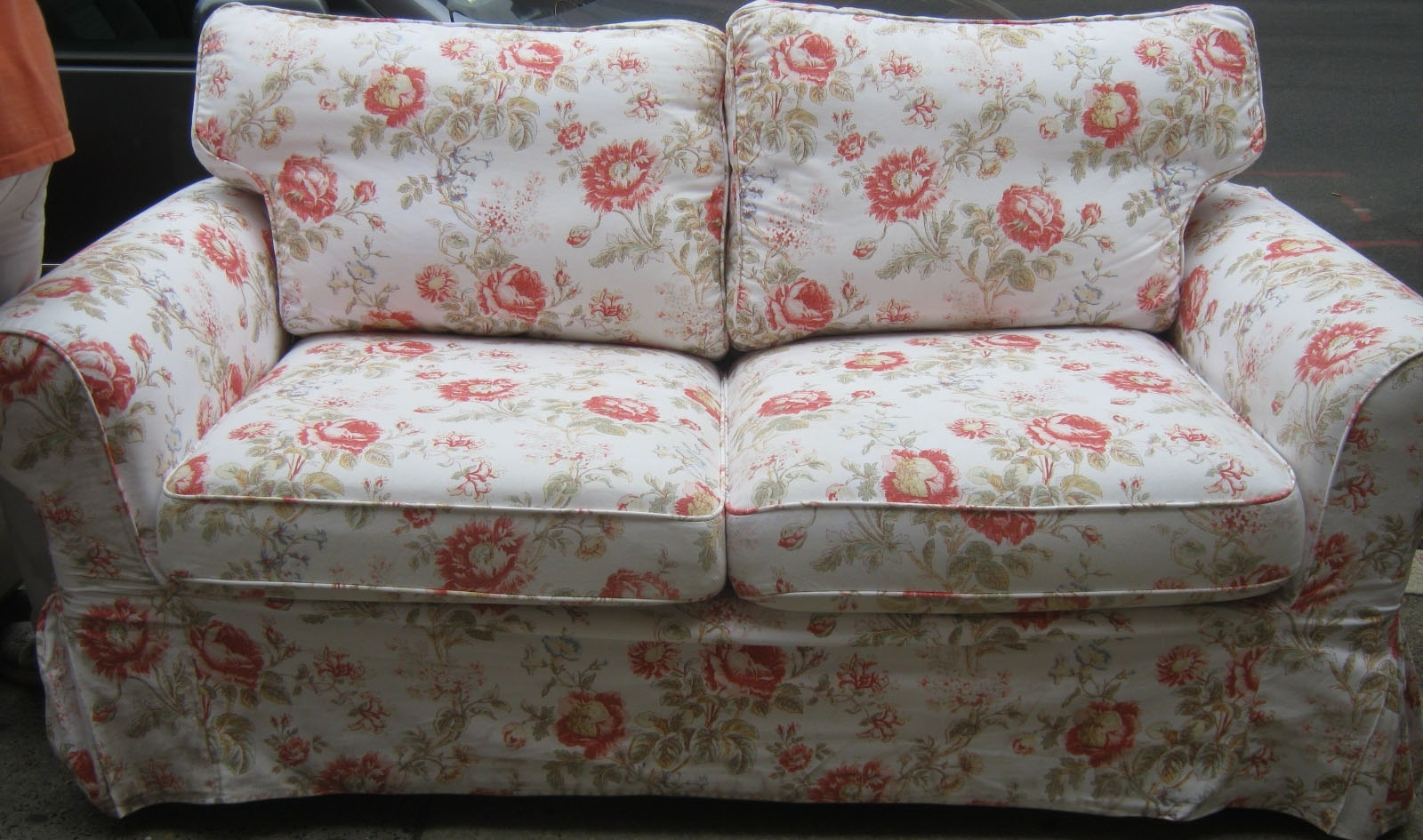 2018 Chintz Floral Sofas Within Furniture : Floral Couch And Loveseat Used Furniture Gallery (View 2 of 20)