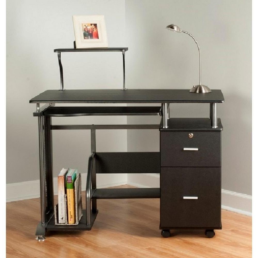 2018 Desk : Corner Computer Desks For Home Enclosed Computer Desk Desk Regarding Enclosed Computer Desks (View 1 of 20)