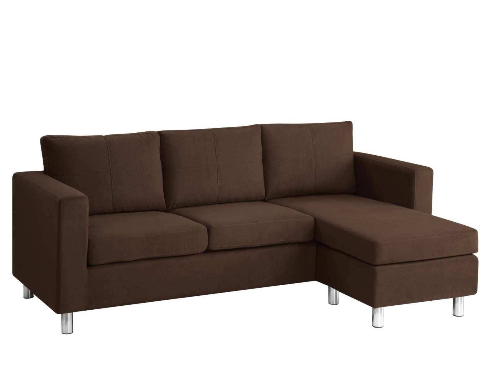 2018 ▻ Sofa : 8 Small Sectional Sofas Reviews Small Leather Sectional With Regard To Sectional Sofas For Small Places (View 1 of 20)