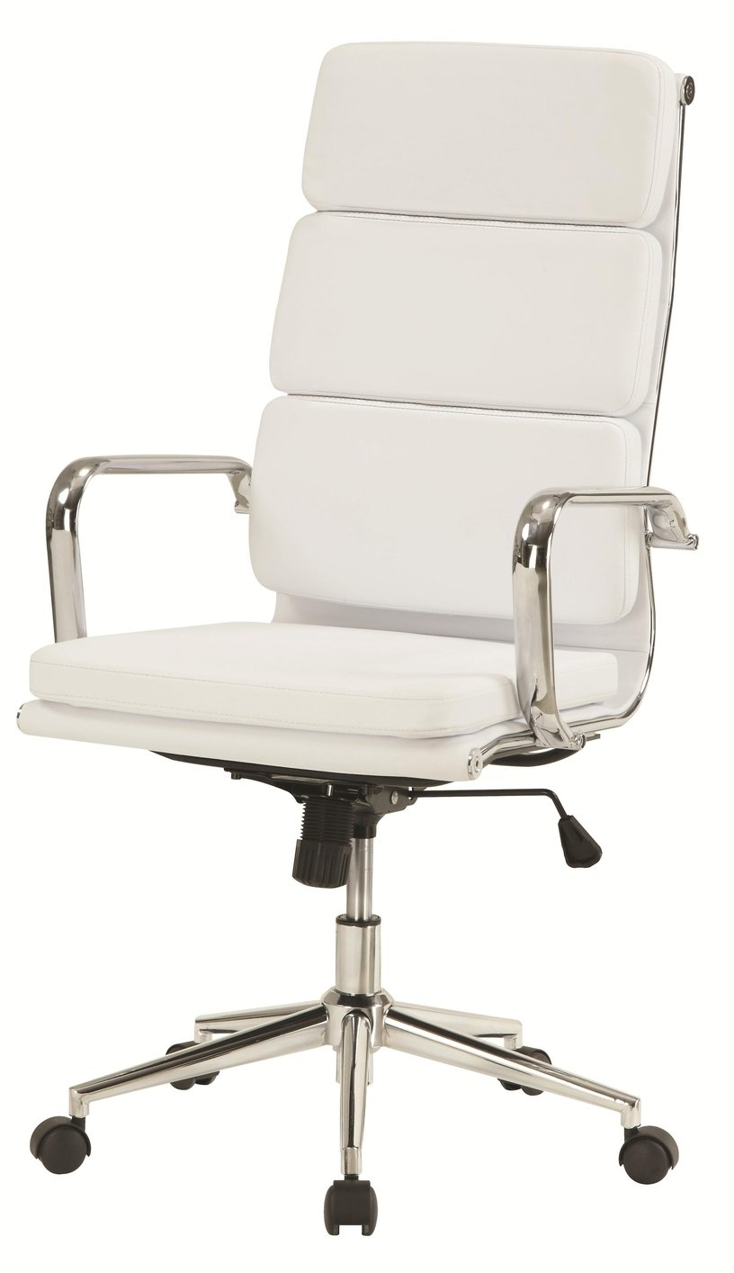 2018 Ergonomic Ultra Modern White Executive Office Chairs With Regard To White Leather Office Chair (View 14 of 20)