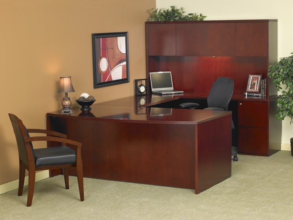 2018 Executive Office Table And Chairs With Executive Office Furniture U Shaped : Best Computer Chairs For (View 4 of 20)