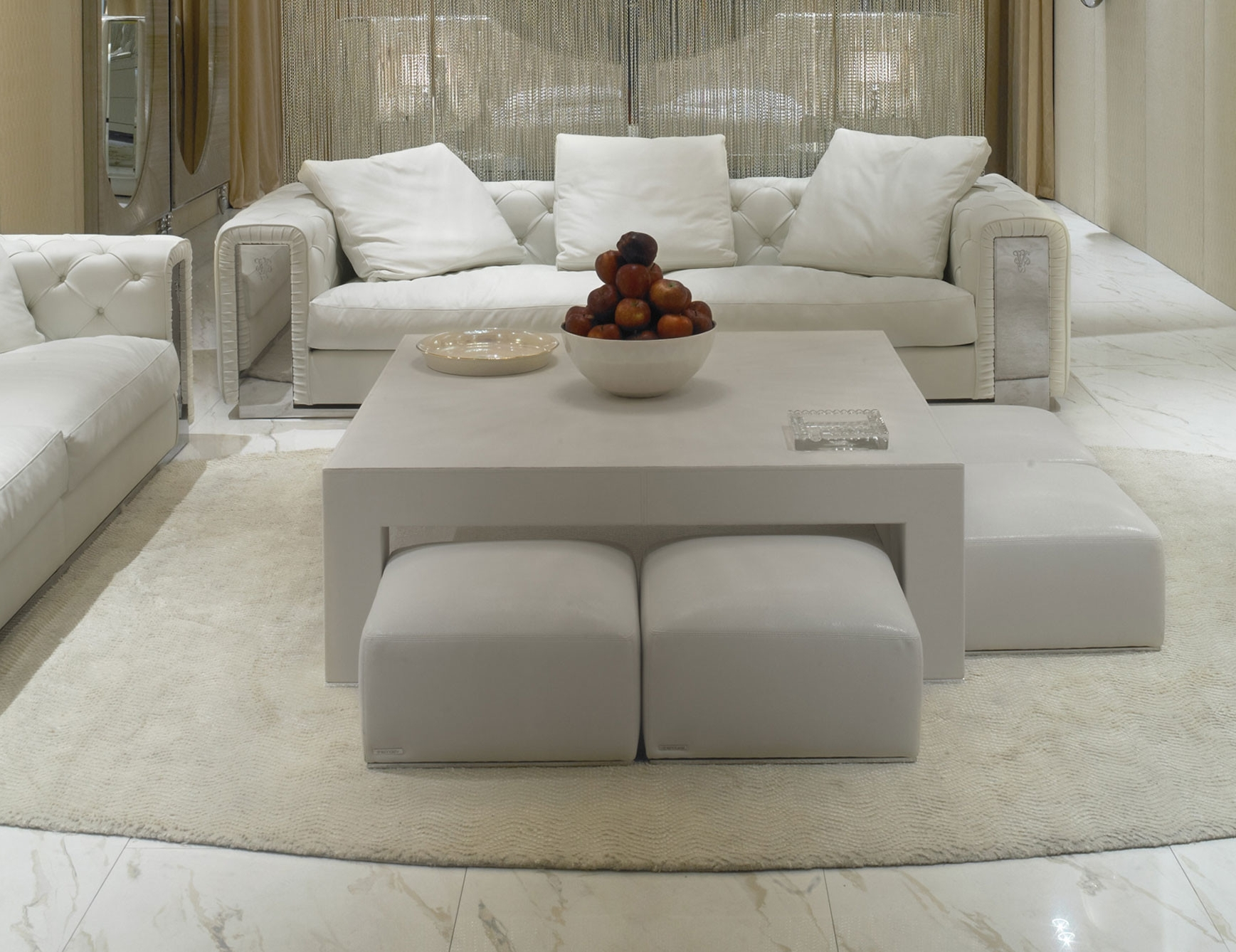 2018 Extra Large Ottoman Coffee Table With Sofas With Large Ottoman (View 17 of 20)
