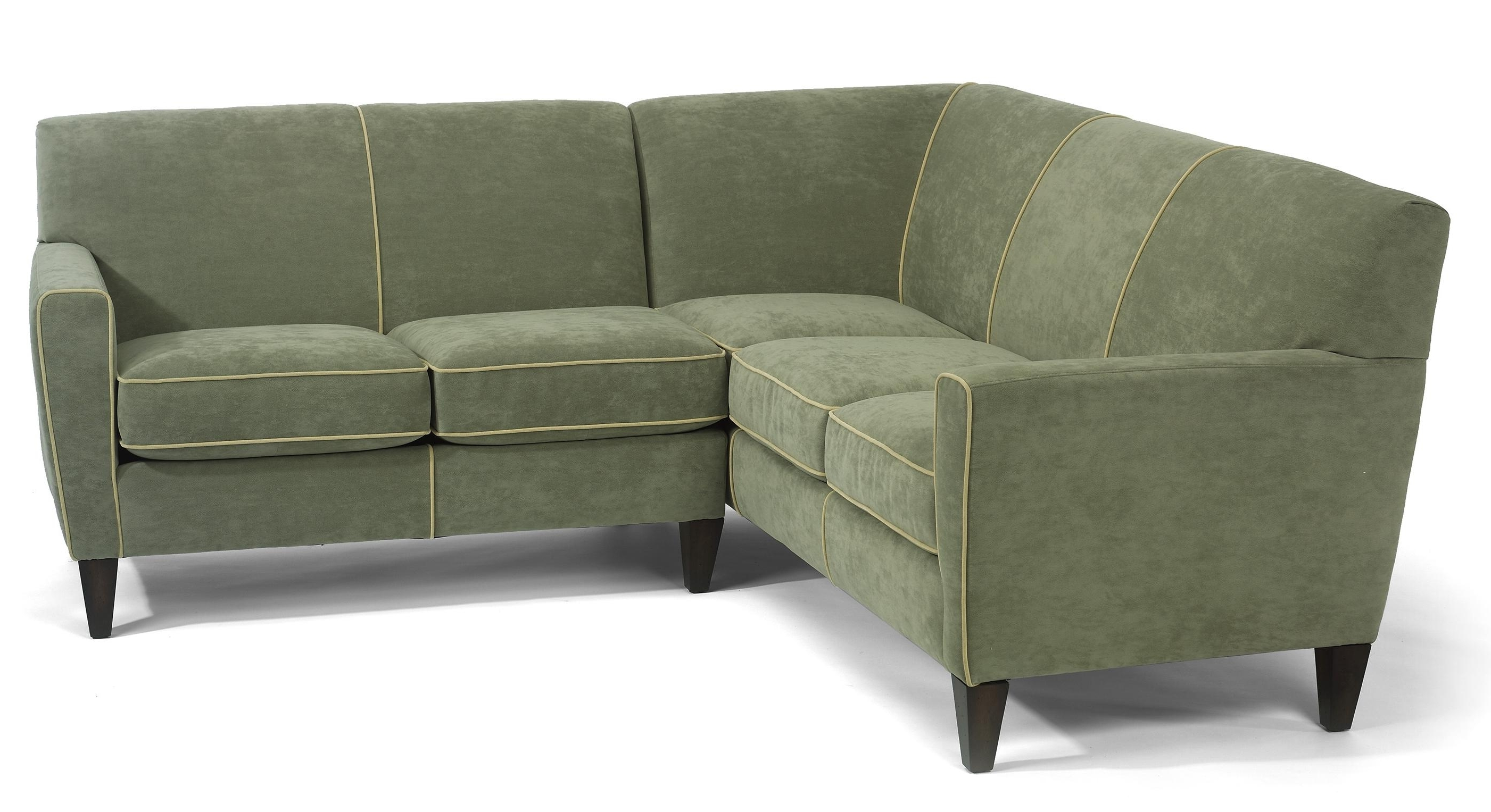 2018 Flexsteel Digby Contemporary L Shape Sectional Sofa – Ahfa – Sofa In Visalia Ca Sectional Sofas (View 18 of 20)