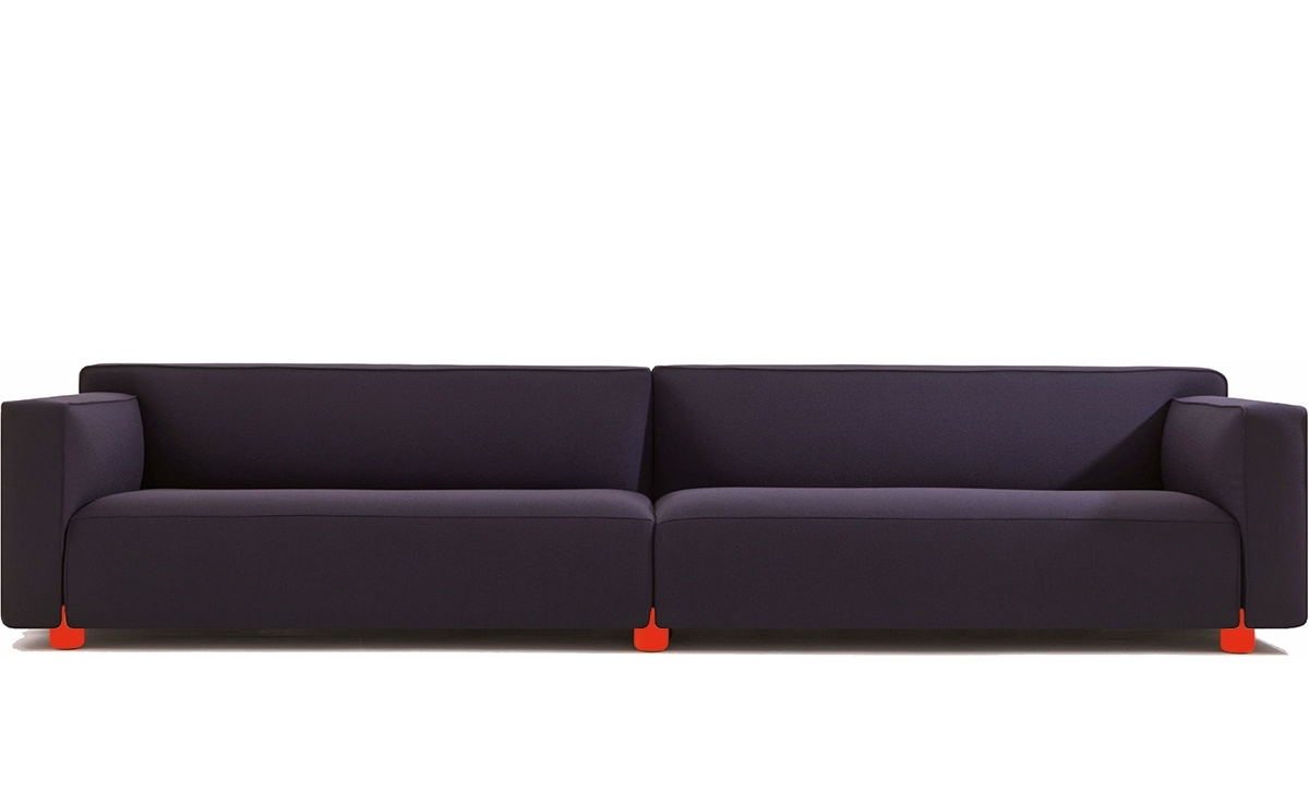 2018 Four Seater Sofas With Barber Osgerby Four Seat Sofa – Hivemodern (View 1 of 20)