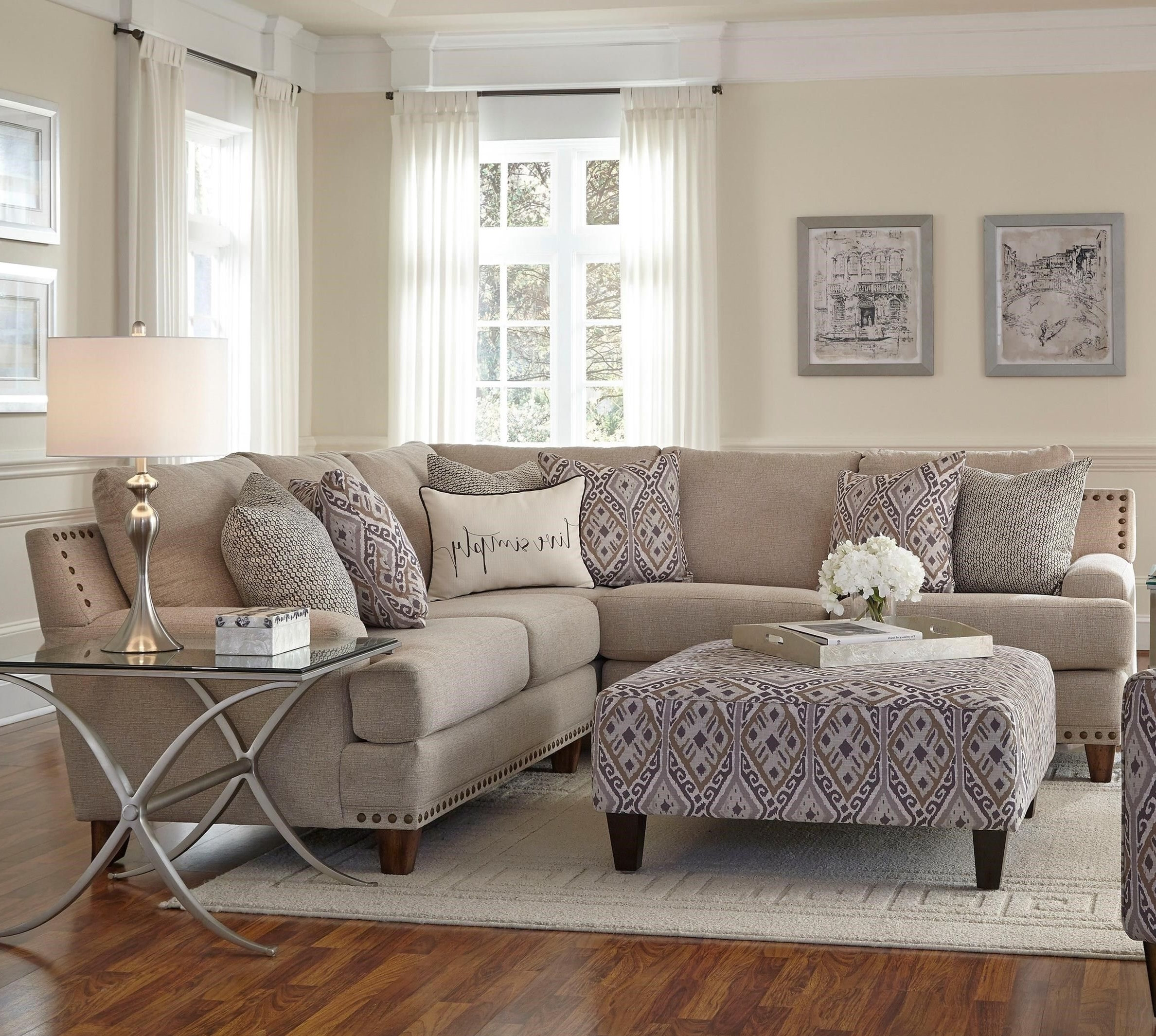 2018 Franklin Julienne Sectional Sofa With Four Seats – Miskelly In Jackson Ms Sectional Sofas (View 8 of 20)