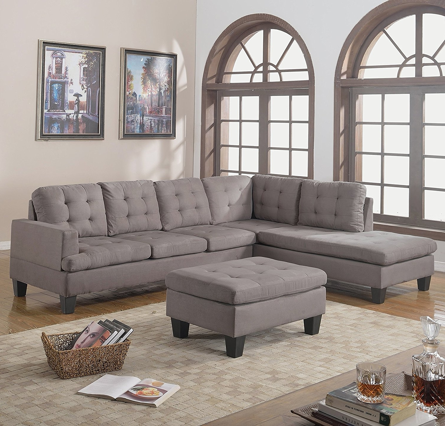 2018 Furniture : American Furniture Warehouse 470 Living Room Furniture Throughout Kansas City Mo Sectional Sofas (View 5 of 20)