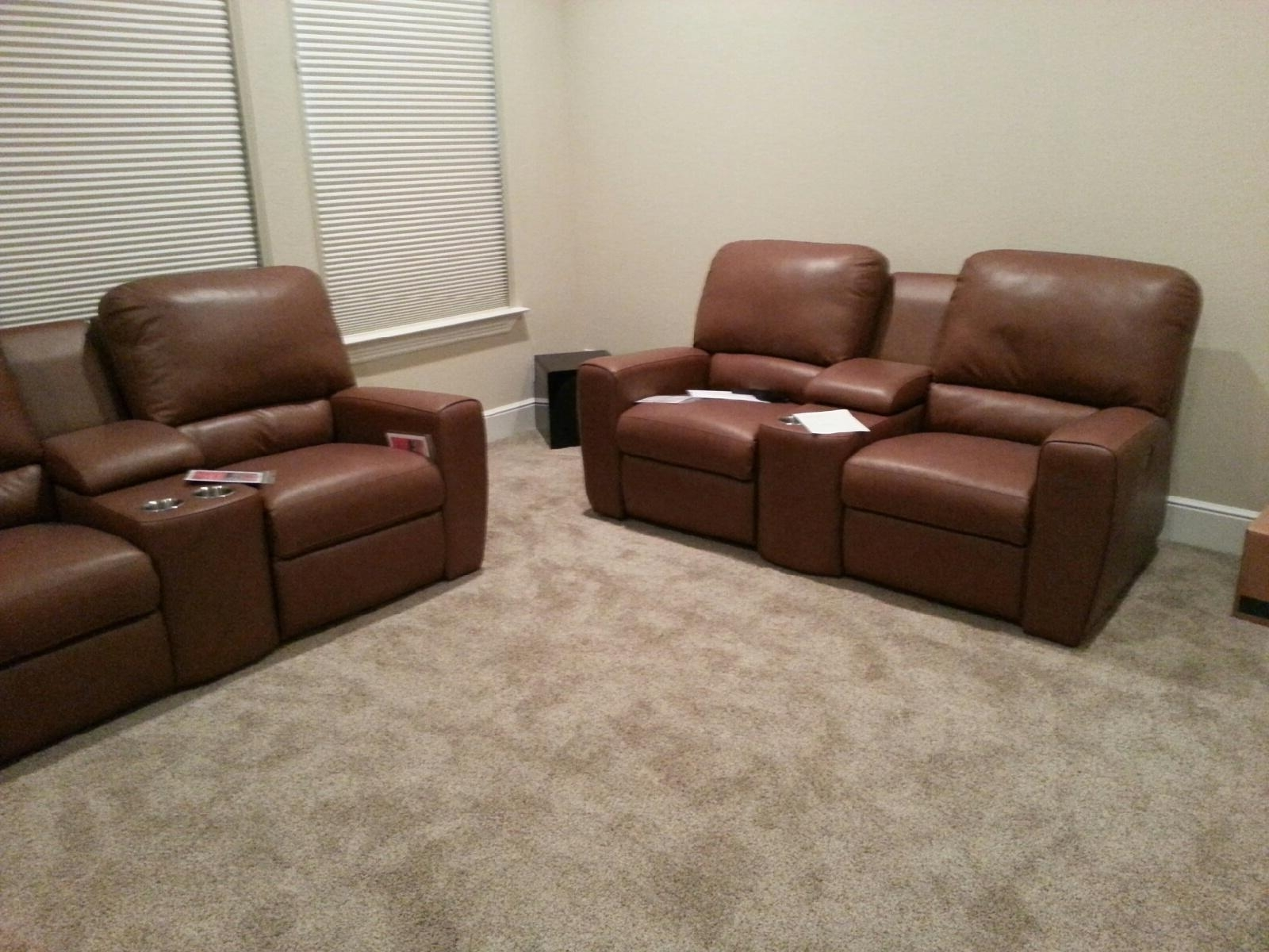 "2018 Home Theater Sectional Palliser ""San Francisco"" (View 3 of 20)"