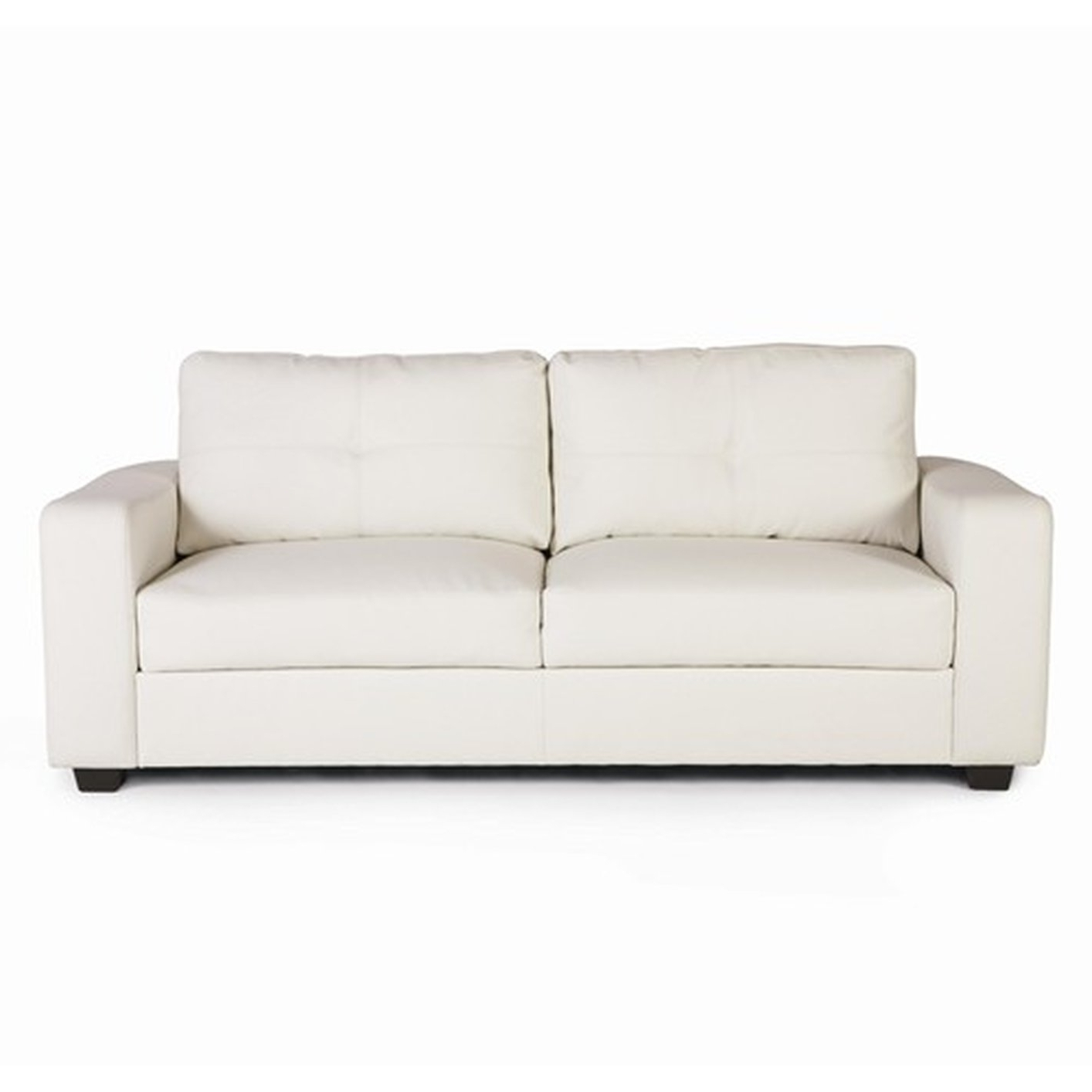 2018 Jasmine White Leather Sofa – Steal A Sofa Furniture Outlet Los Pertaining To White Sofa Chairs (View 1 of 20)