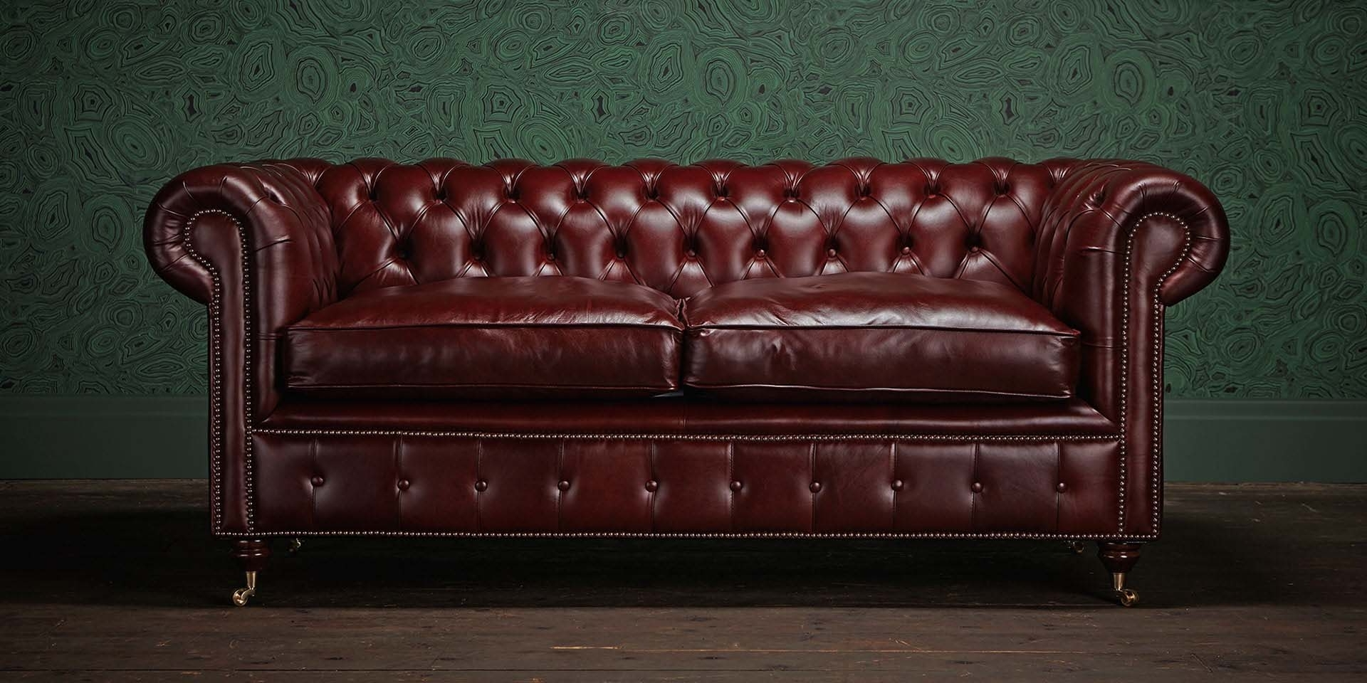 2018 Leather Chesterfield Sofas Within Original Chesterfield Sofa – Home And Textiles (View 1 of 20)