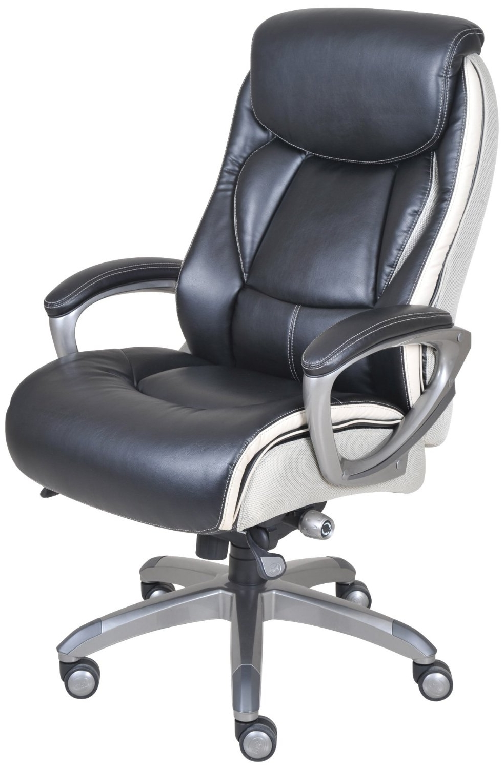 2018 Light Beige Microfiber Executive Office Chairs In Best Executive Chair – Office Chair Hq (View 20 of 20)