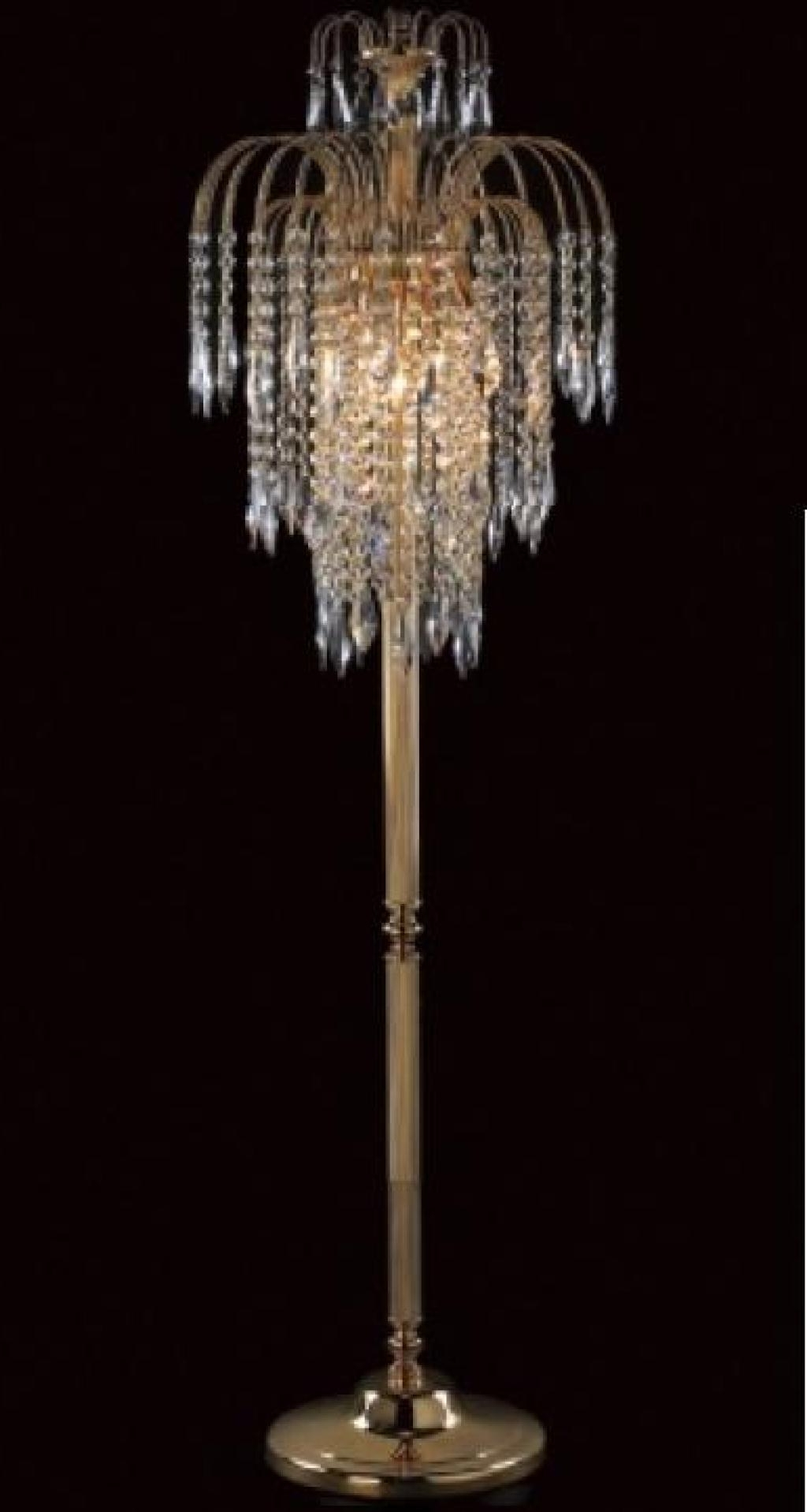 Featured Photo of Tall Standing Chandelier Lamps