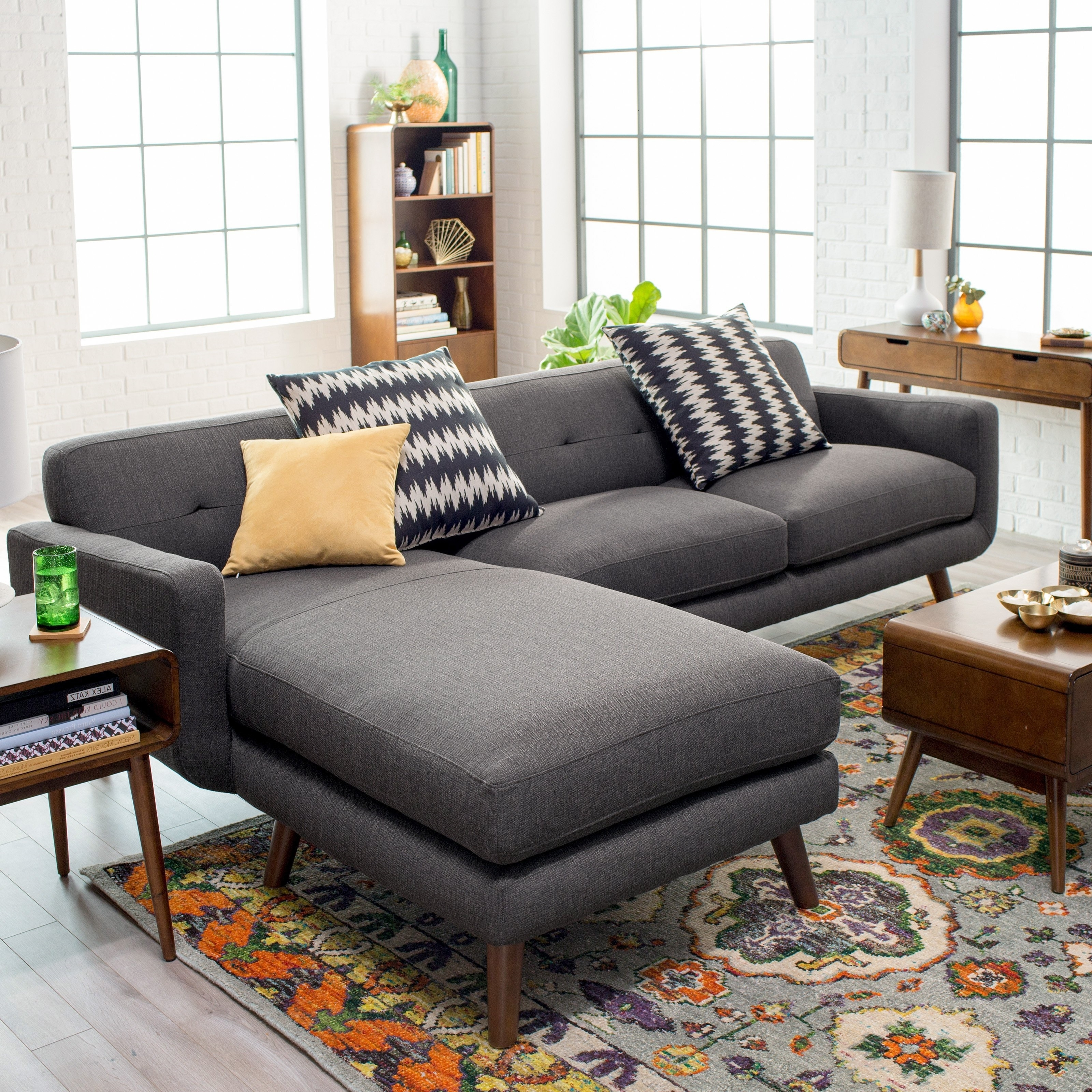 2018 Living Room Furniture : Small Sectional Sofa Sectional Sofas Inside Good Quality Sectional Sofas (View 1 of 20)
