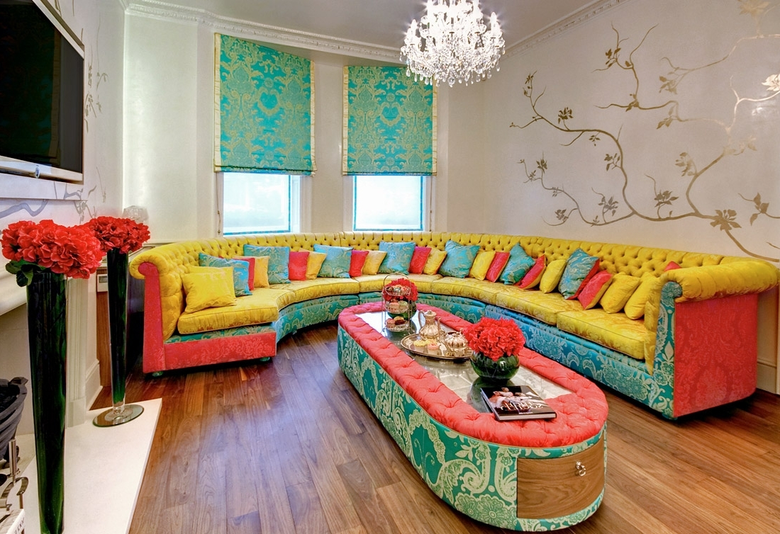 2018 Look Cool With Yellow Leather Sofa #1018 – Green Way Parc For Colorful Sofas And Chairs (View 1 of 20)