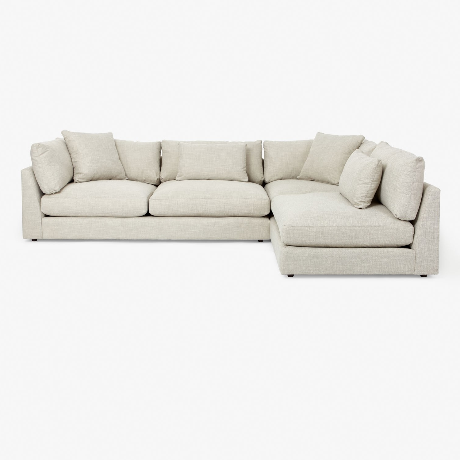 2018 Modern Sectional Sofas In Modern Sectional Sofas For Nyc Apartments At Abc Home (View 1 of 20)