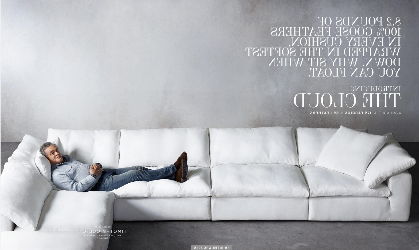 2018 Restoration Hardware Sectional Sofas Regarding Test Road It Today! Love It! Gotta Have It! Restoration Hardware (View 3 of 20)