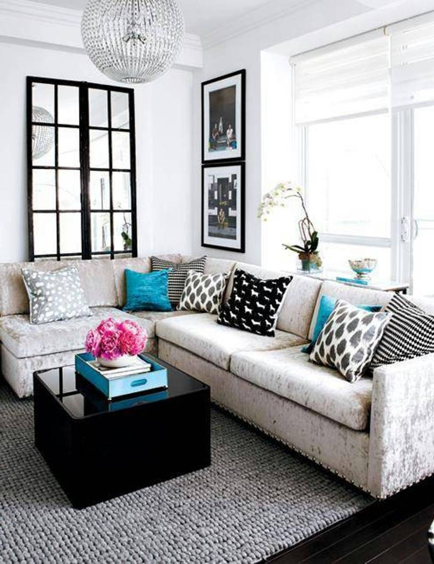 2018 Sectional Sofas For Small Living Rooms Inside Small Living Room Ideas With Sectional Sofa • Living Room Design (View 1 of 20)