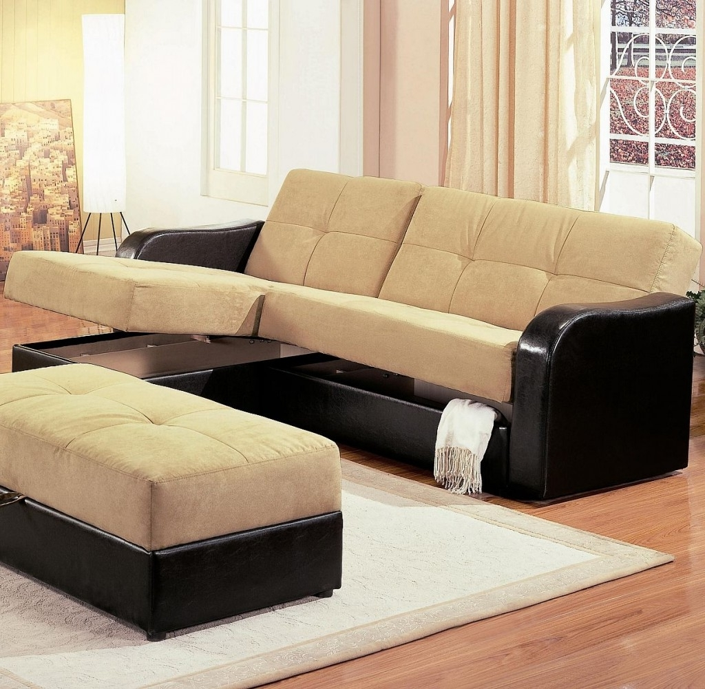 2018 Sectional Sofas With Storage In Leather Armchair And Ottoman Chaise Sofa With Storage Ottoman (View 1 of 20)