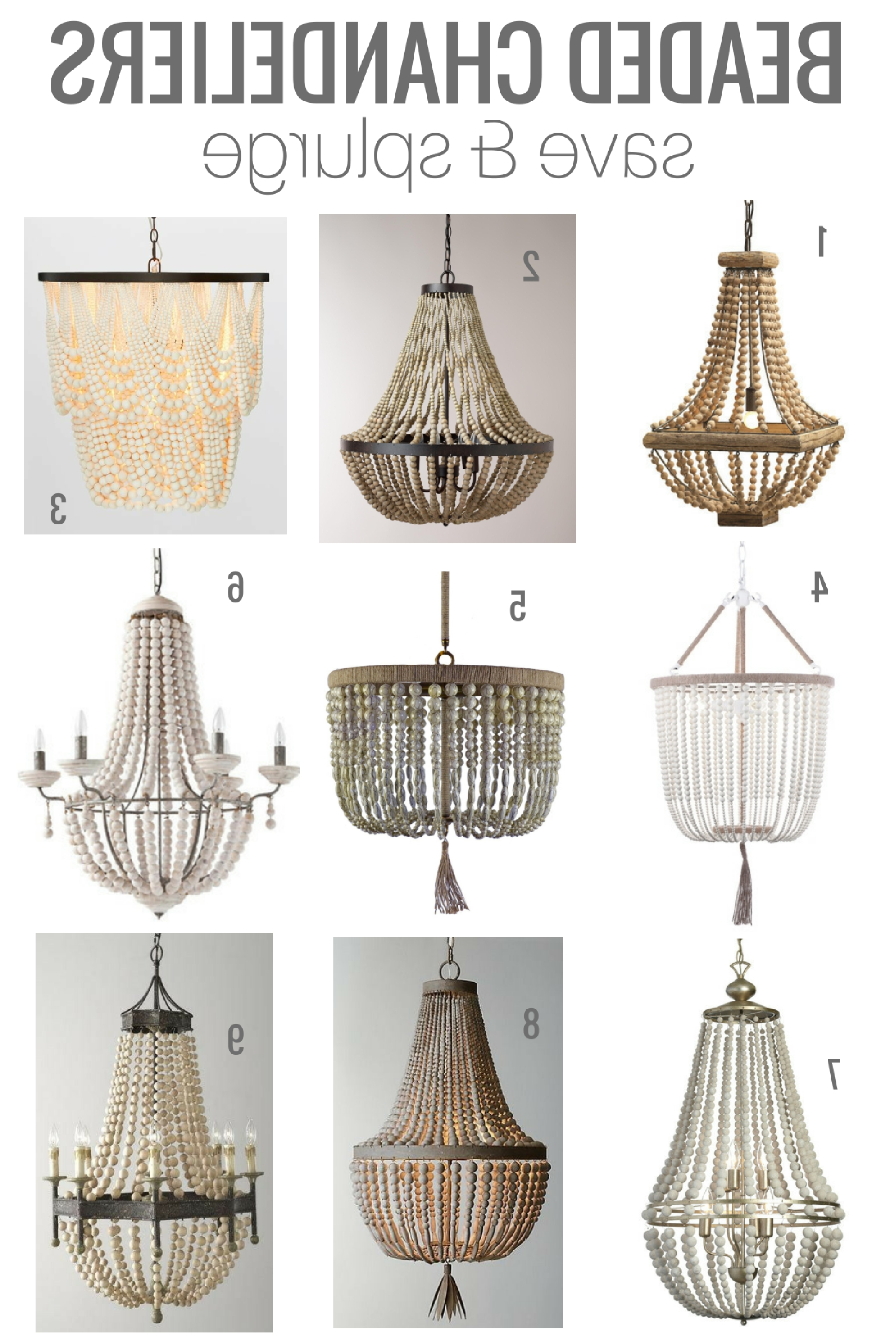 2018 Small Turquoise Beaded Chandeliers Intended For Beaded Chandeliers & Invaluable Lighting Lessons (View 1 of 20)