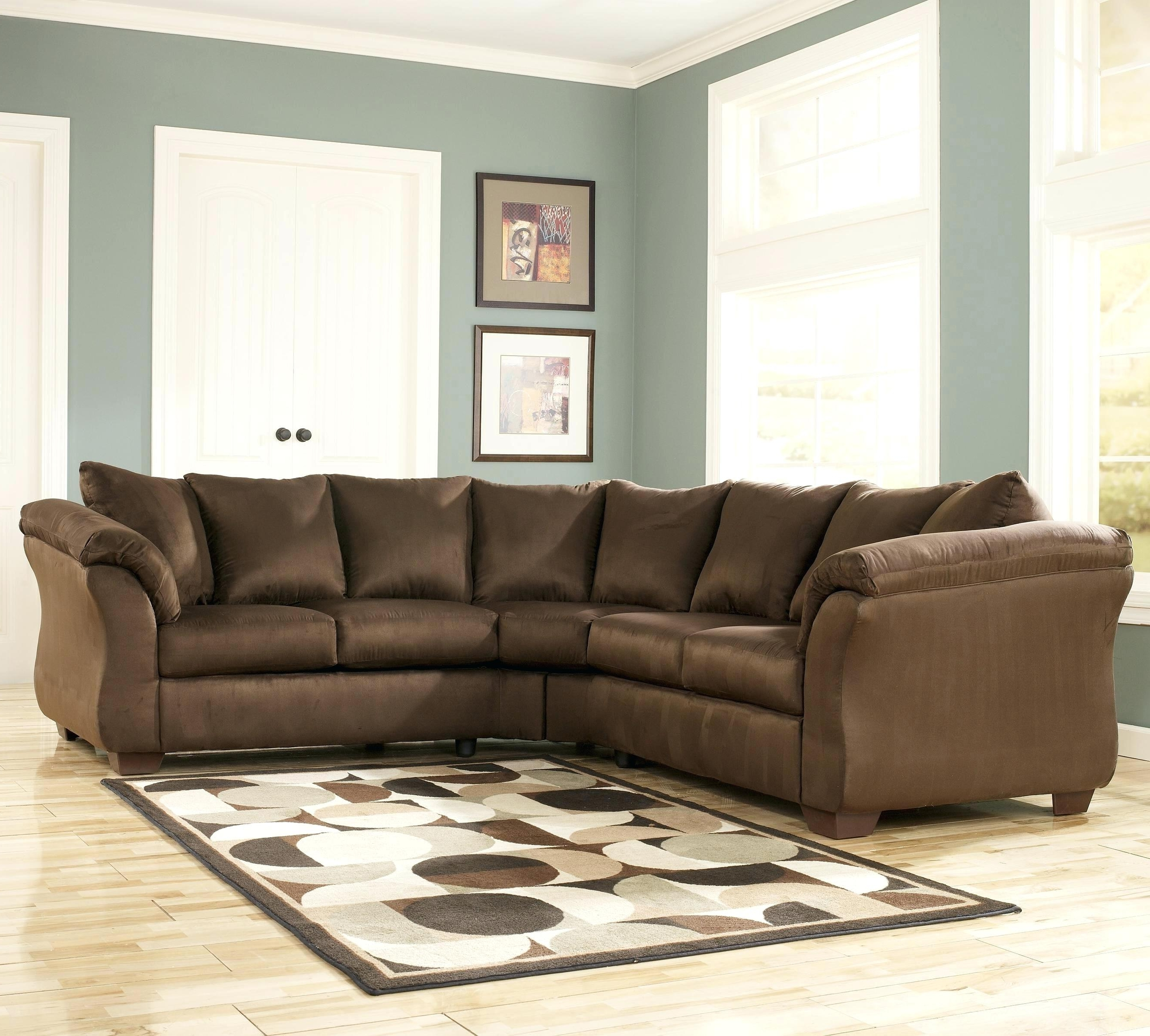 2018 Sofa Macys Leather Sectional Sleeper Queen Bed Throughout
