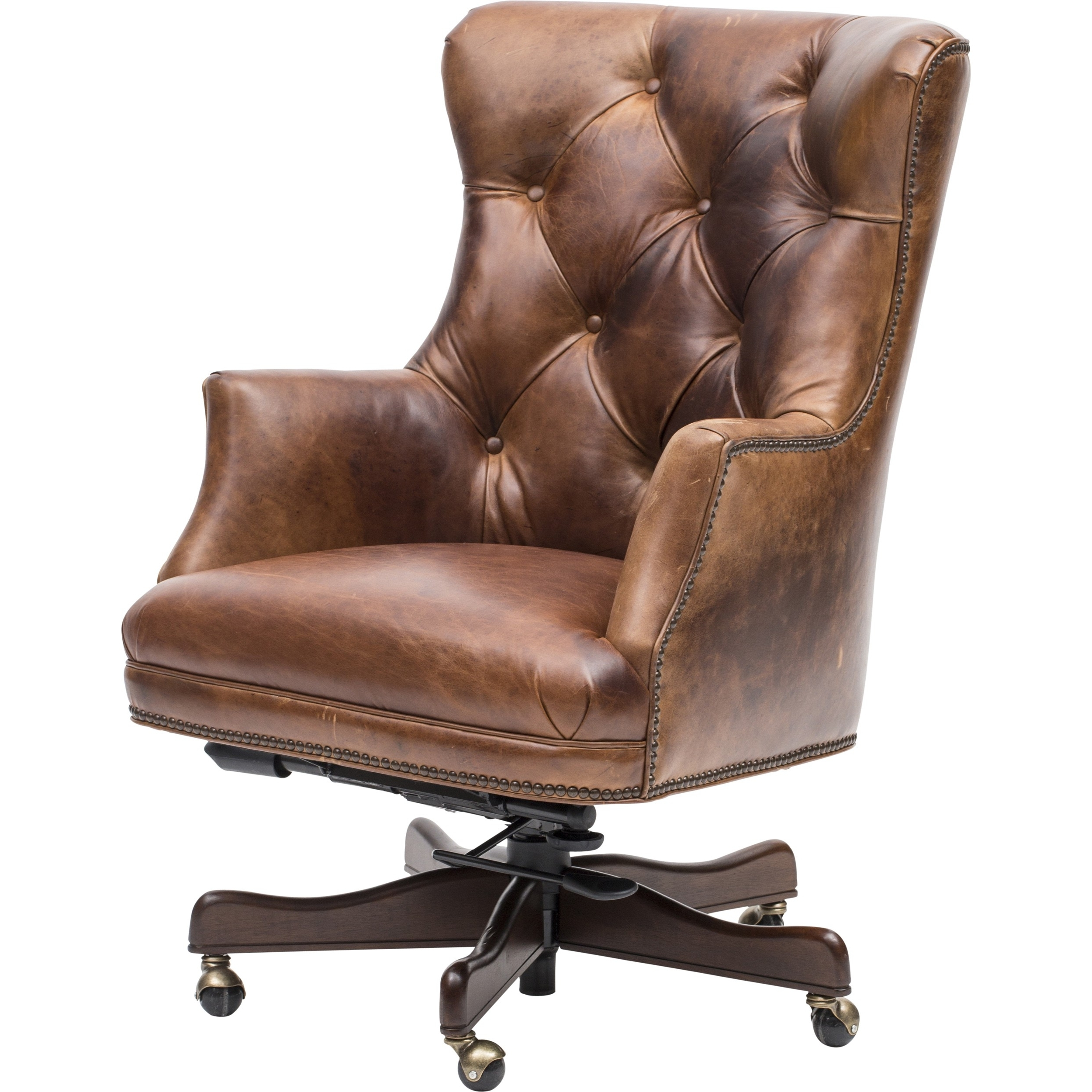 2018 Verona Executive Leather Office Chairs In Chair : High Back Executive Leather Office Chair Verona Brown (View 7 of 20)