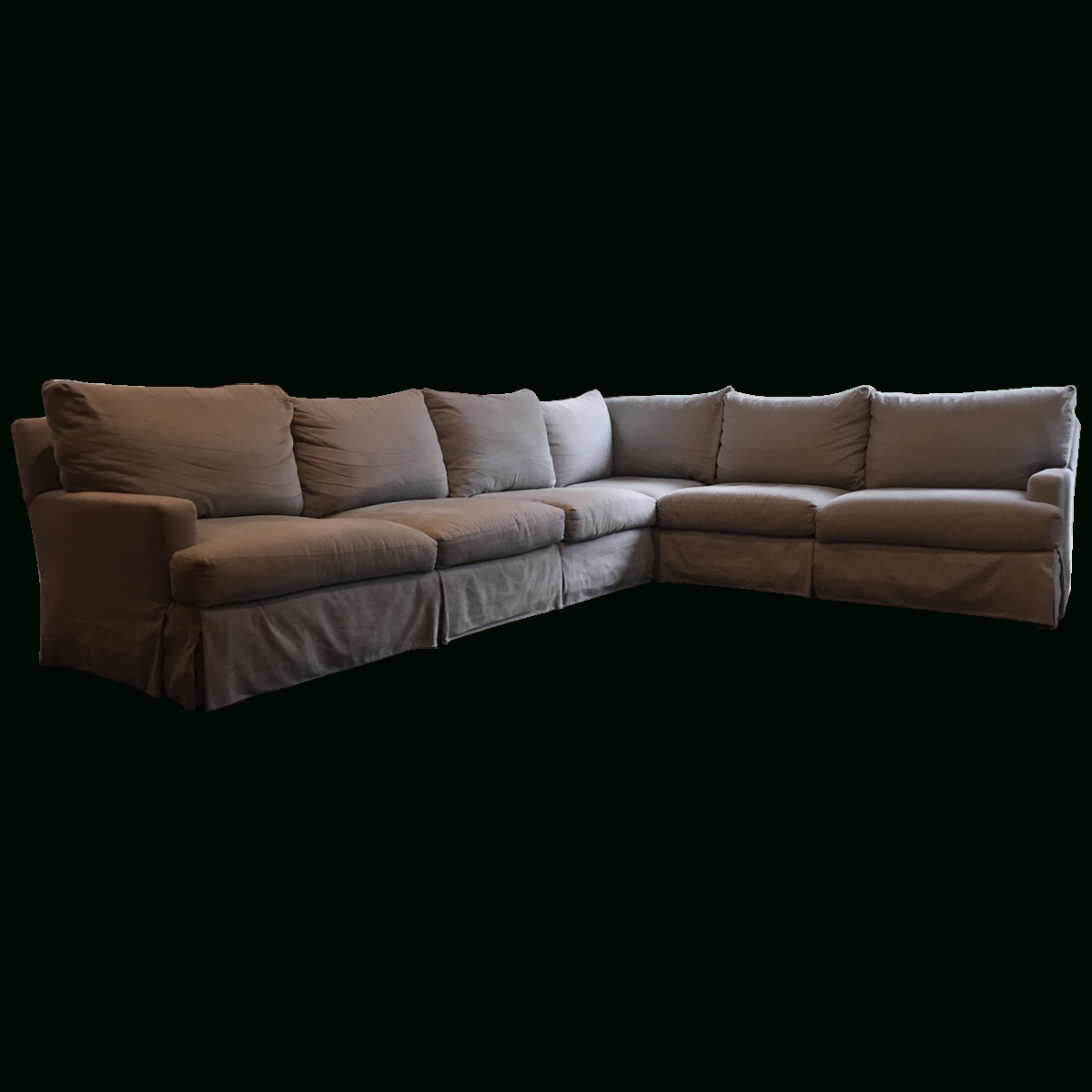 2018 Viyet – Designer Furniture – Seating – Lee Industries Linen Blend Intended For Lee Industries Sectional Sofas (View 10 of 20)