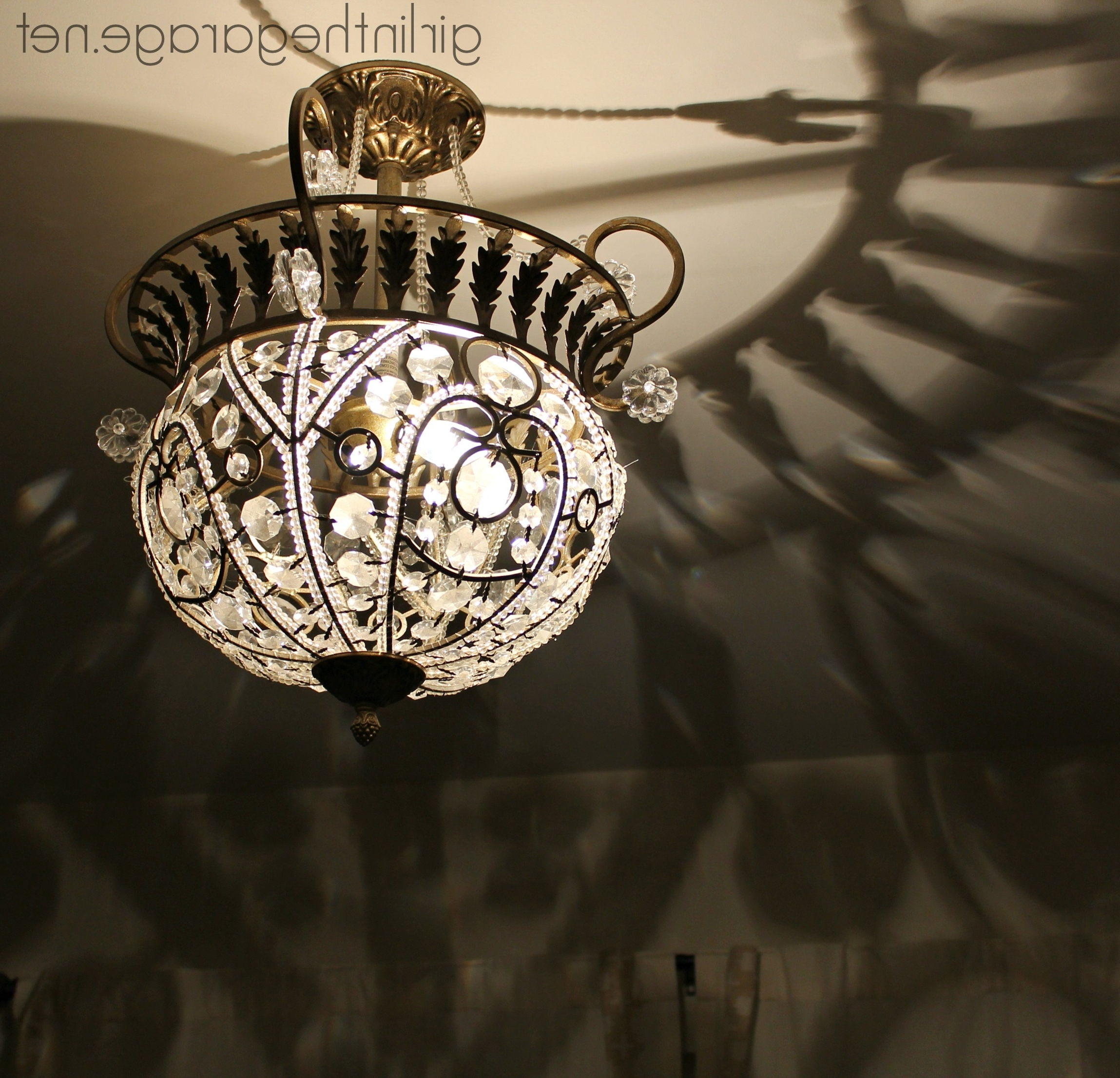 2018 Weird Chandeliers With Regard To Handy Hubby, Fancy Chandy (View 2 of 20)