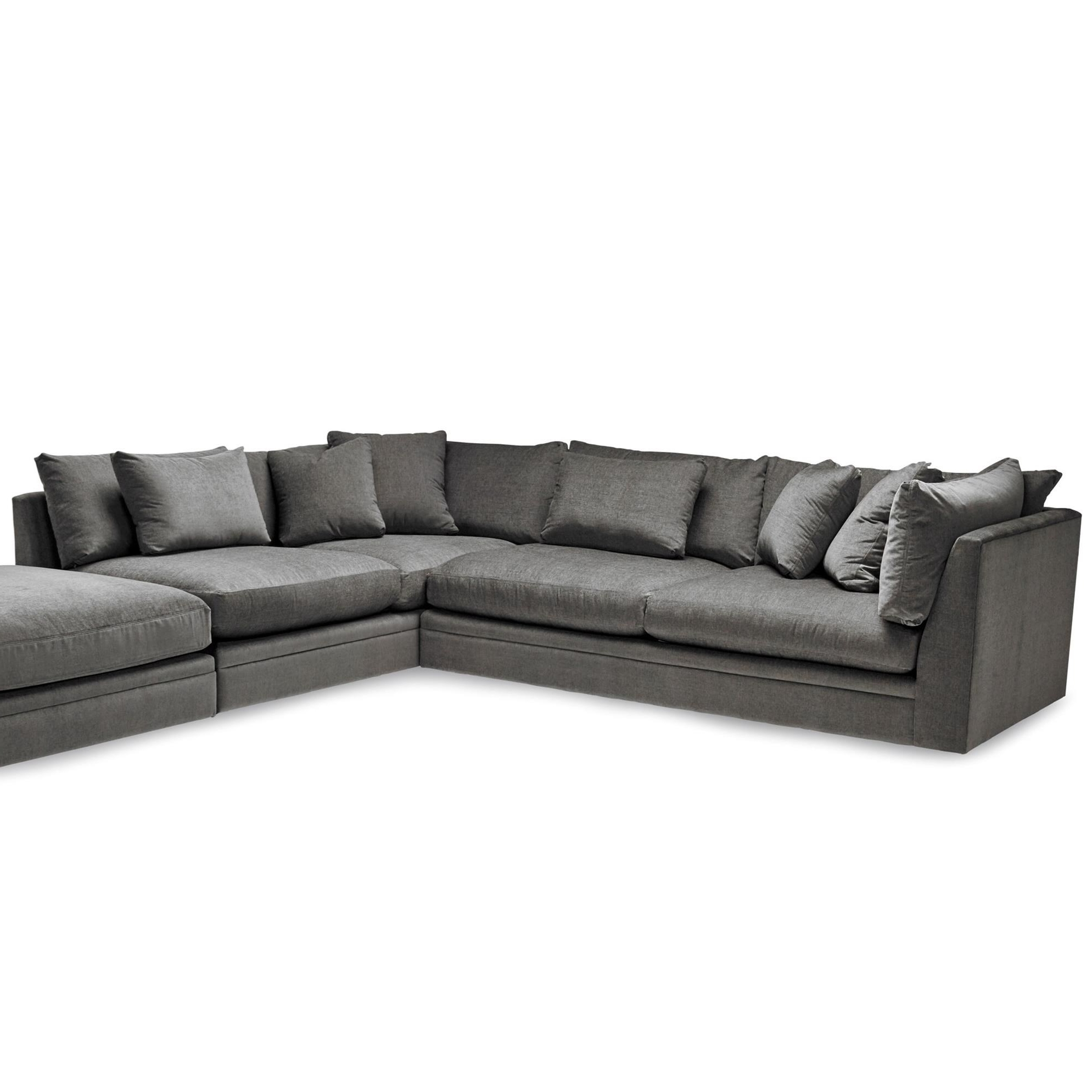 2019 1414 Two Piece Sectional Sofa With Scattered Back Pillows (View 11 of 20)