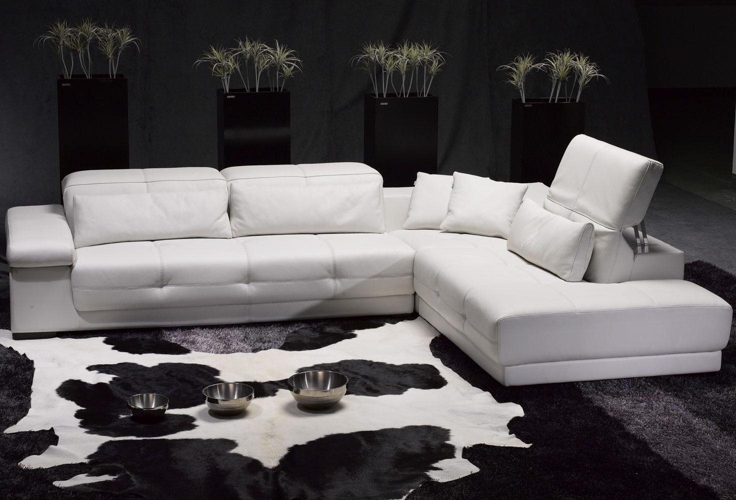 2019 Alluring White Leather Sectional Sofa Ideas For Living Room Pertaining To High End Leather Sectional Sofas (View 1 of 20)