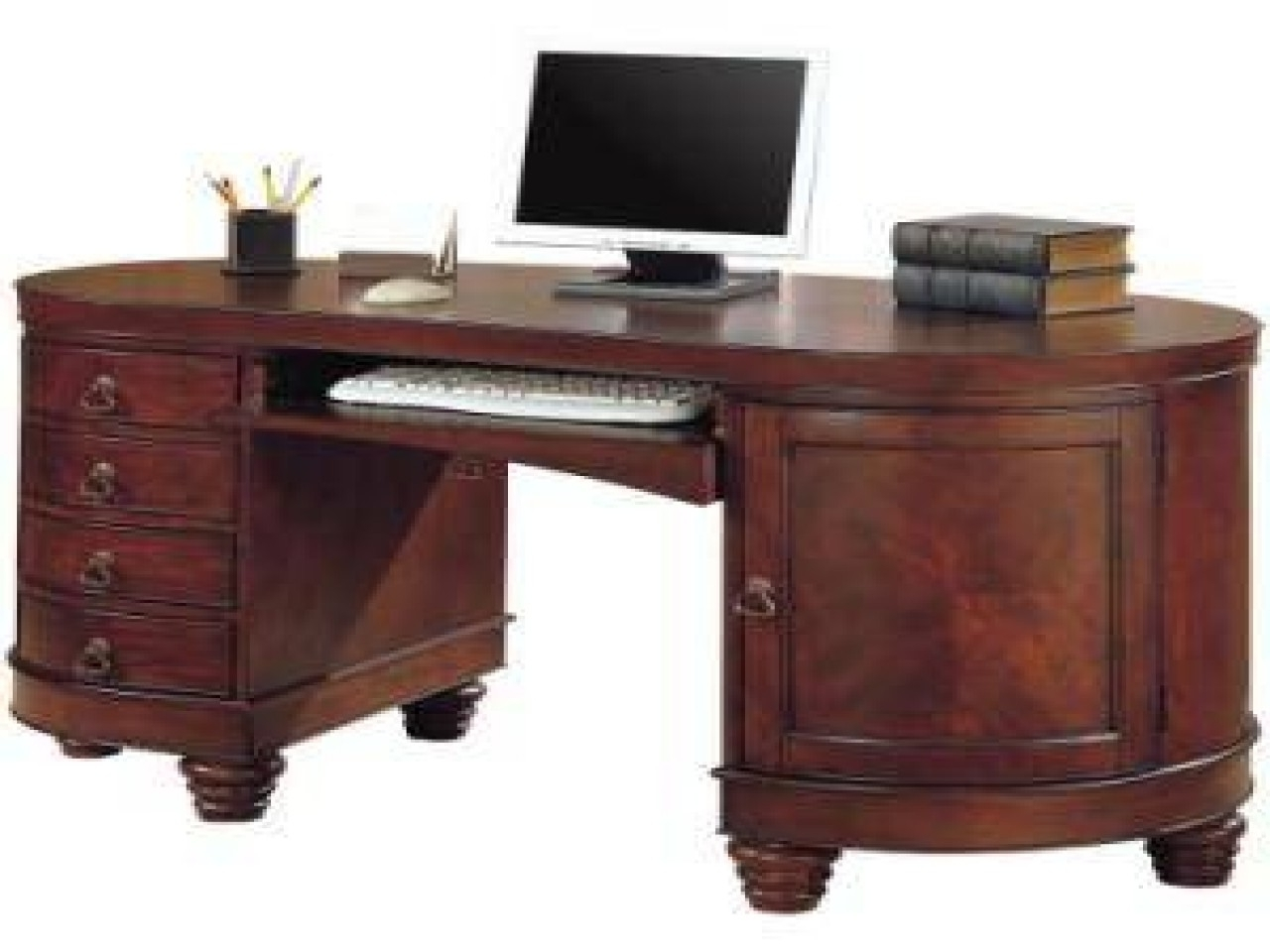 2019 Antique Computer Desks Antique Furniture – Ashley Furniture Pertaining To Antique Computer Desks (View 1 of 20)