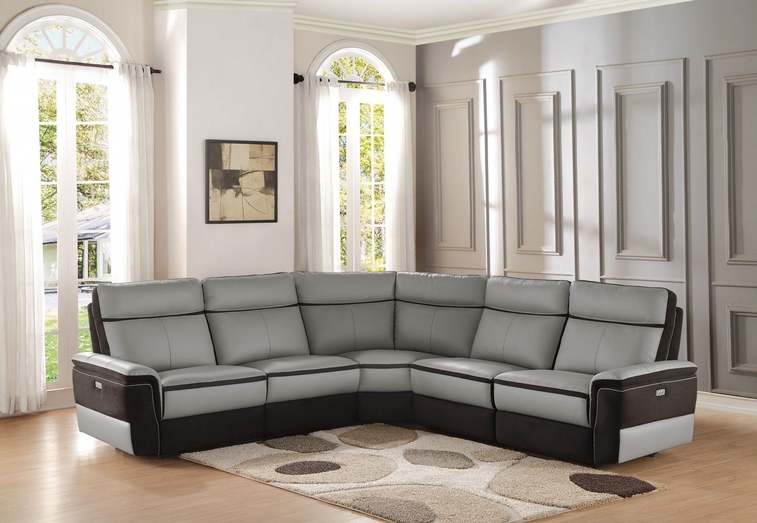 2019 Beckett Sectional Havertys Recliner Sofa Deals Power Reclining With Sectional Sofas At Havertys (View 1 of 20)