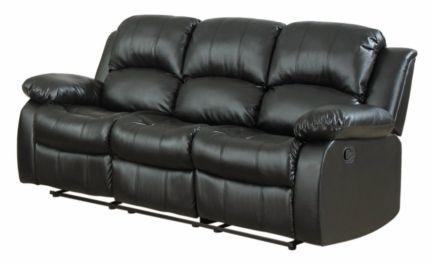 2019 Berkline Sectional Sofas Inside Reclining Sofas For Sale: Berkline Leather Reclining Sofa Costco (View 1 of 20)