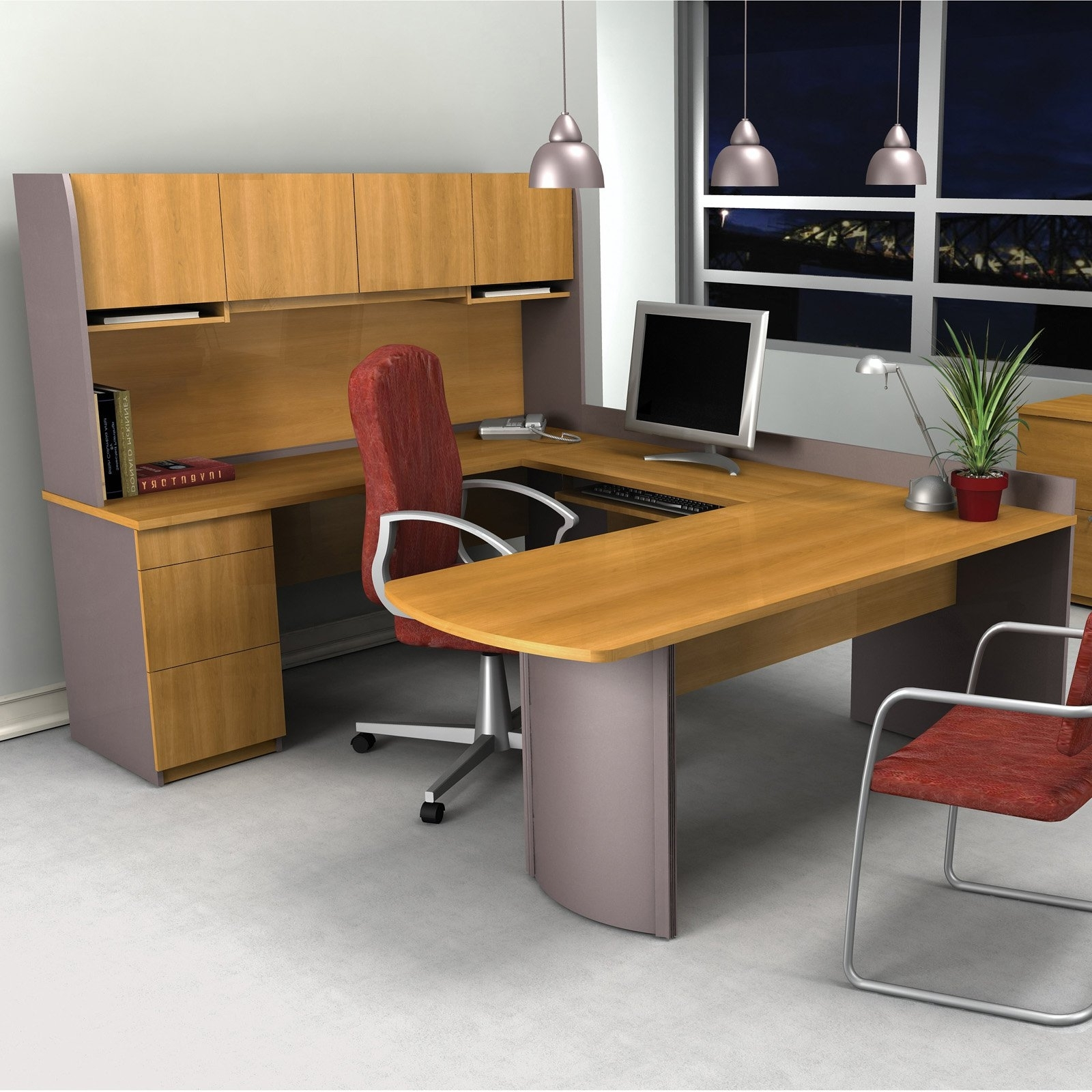 2019 Best U Shaped Computer Desk – Thediapercake Home Trend Inside U Shaped Computer Desks (View 10 of 20)