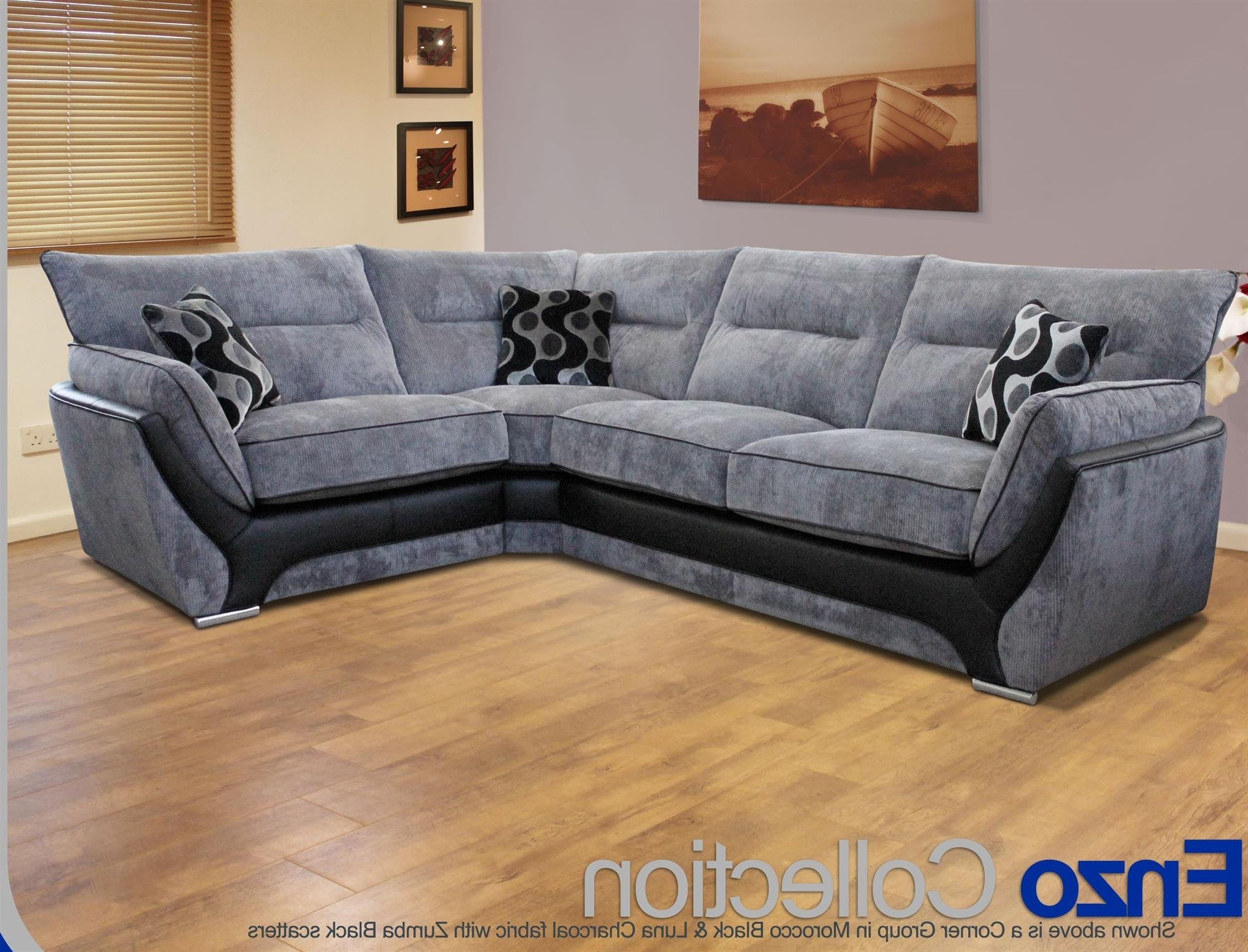 2019 Buoyant Enzo Corner Sofas Chairs Footstools From Planet Furniture Throughout Corner Sofa Chairs (View 1 of 20)